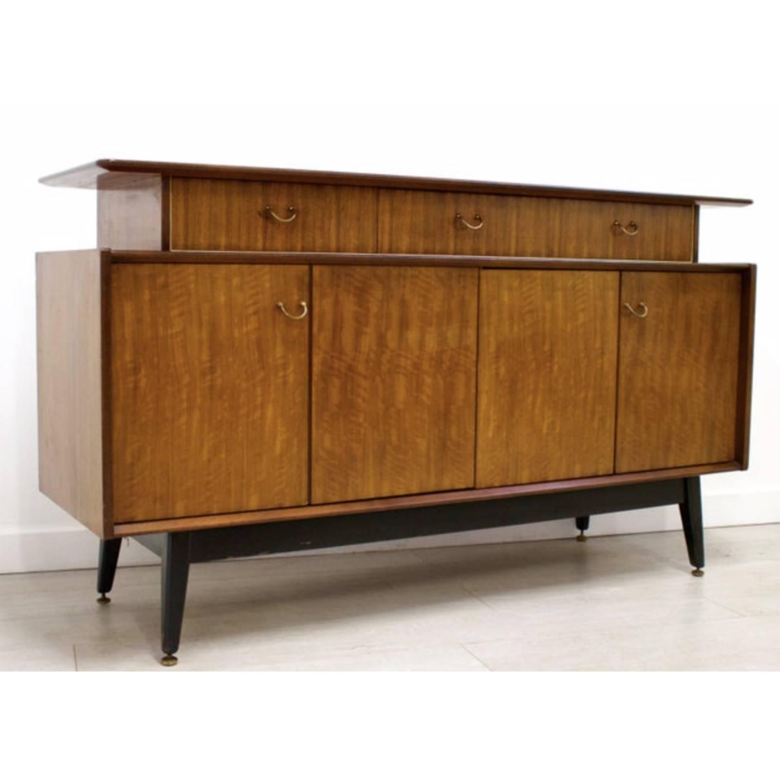 Vintage 1960s G Plan Librenza E-Gomme Teak Sideboard
