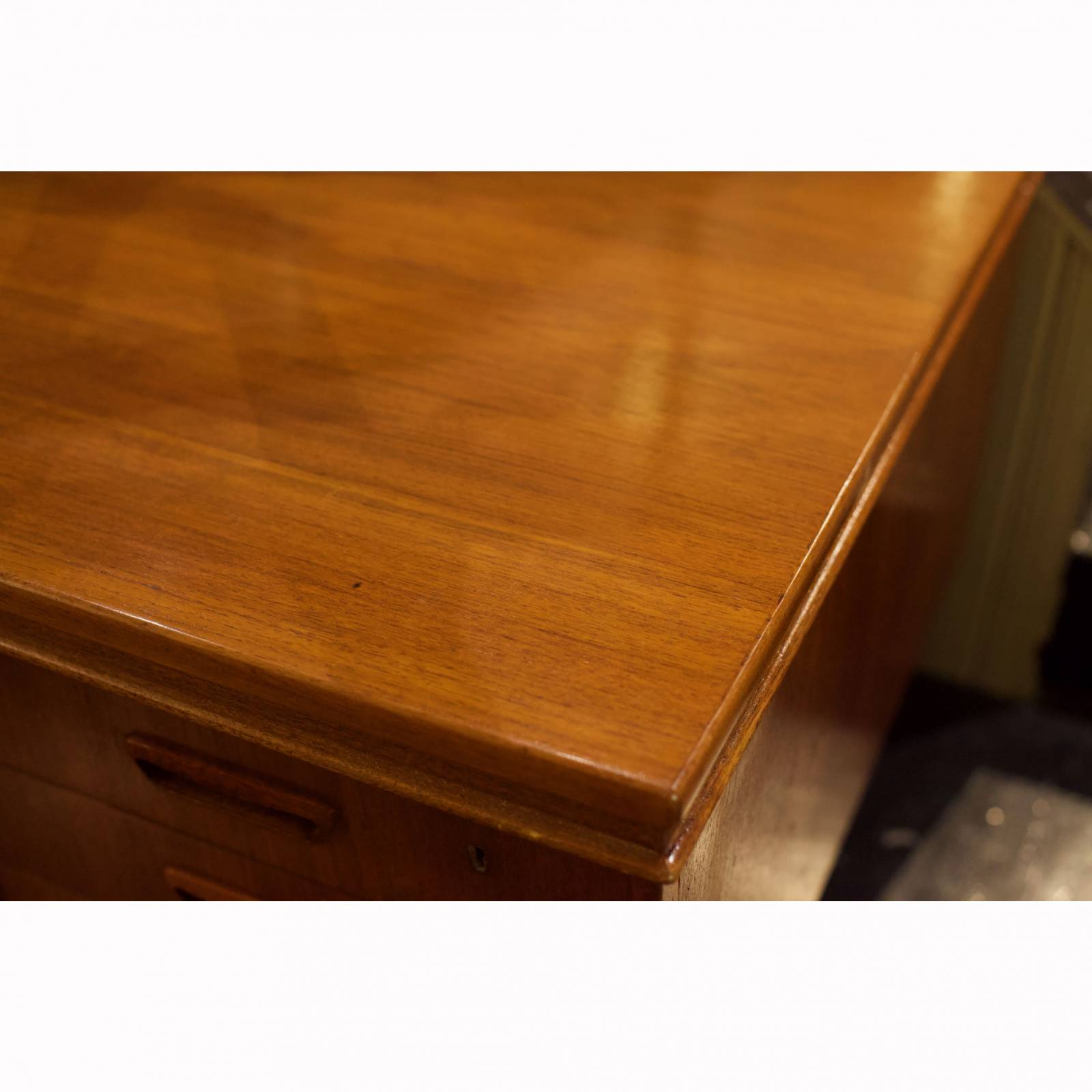 1960s Danish Double Sided Executive Teak Desk thumbnails