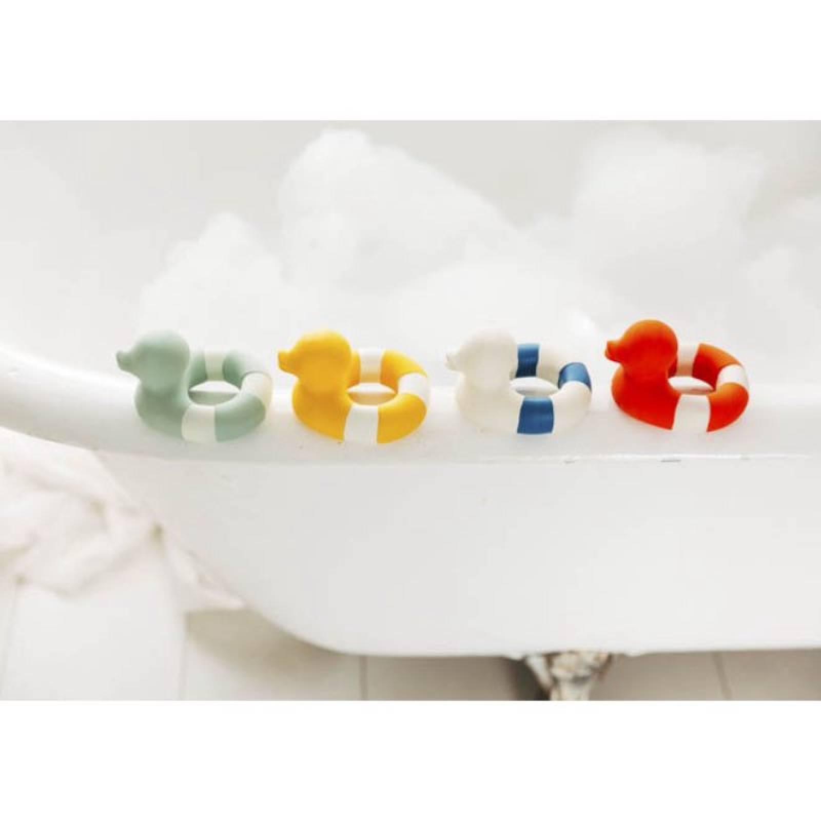 Flo The Floatie Duck Bath Toy In Mint 0+