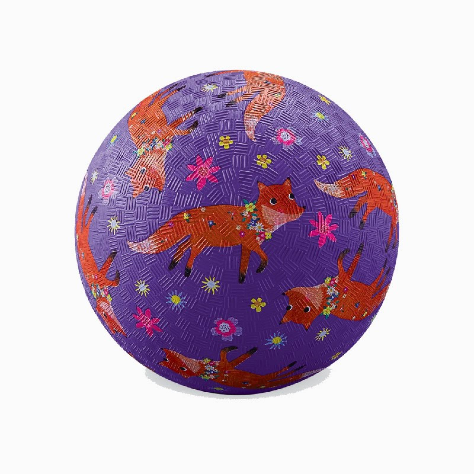 Fox - Small Rubber Picture Ball 13cm