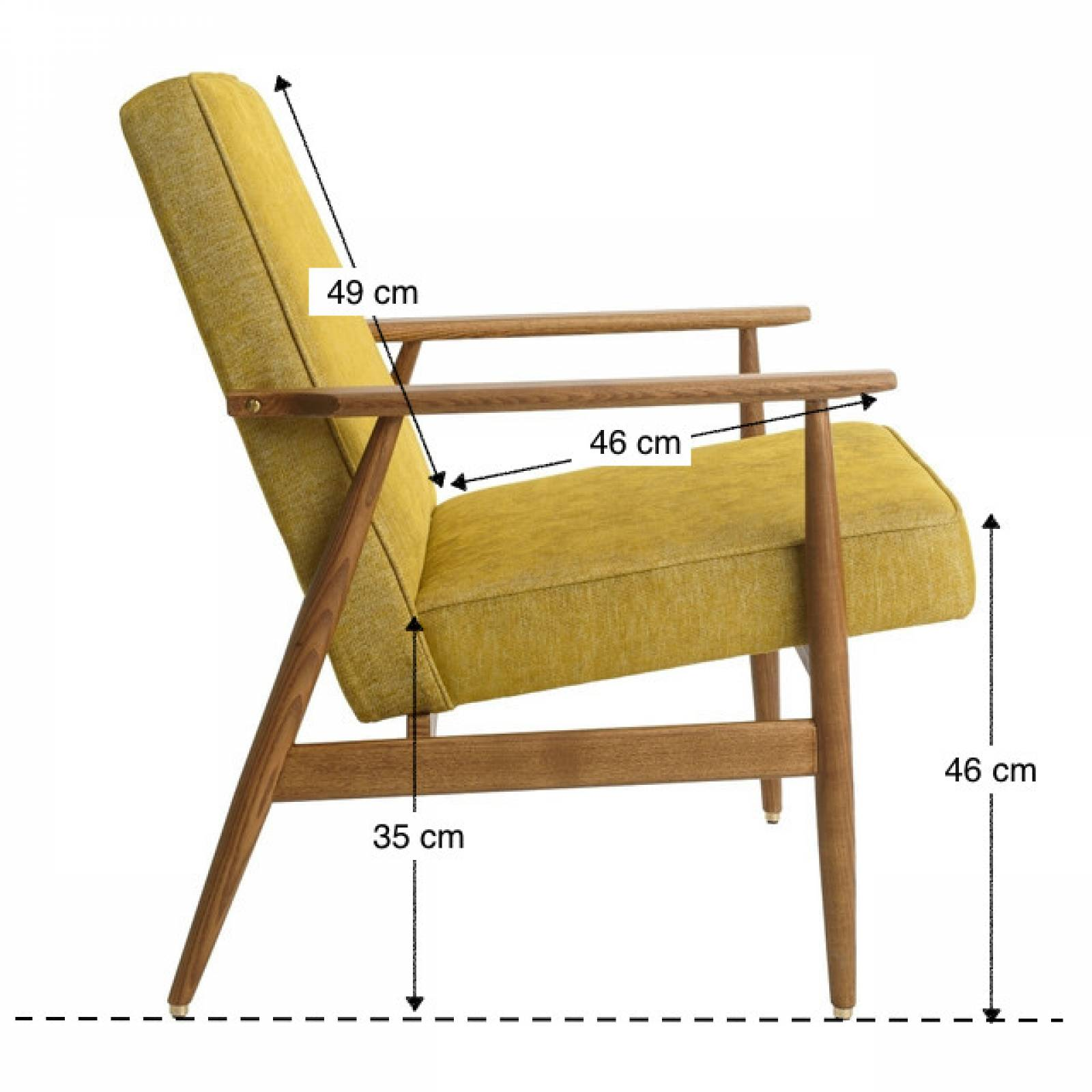 Fox Lounge Chair - Deco Collection Fabric thumbnails