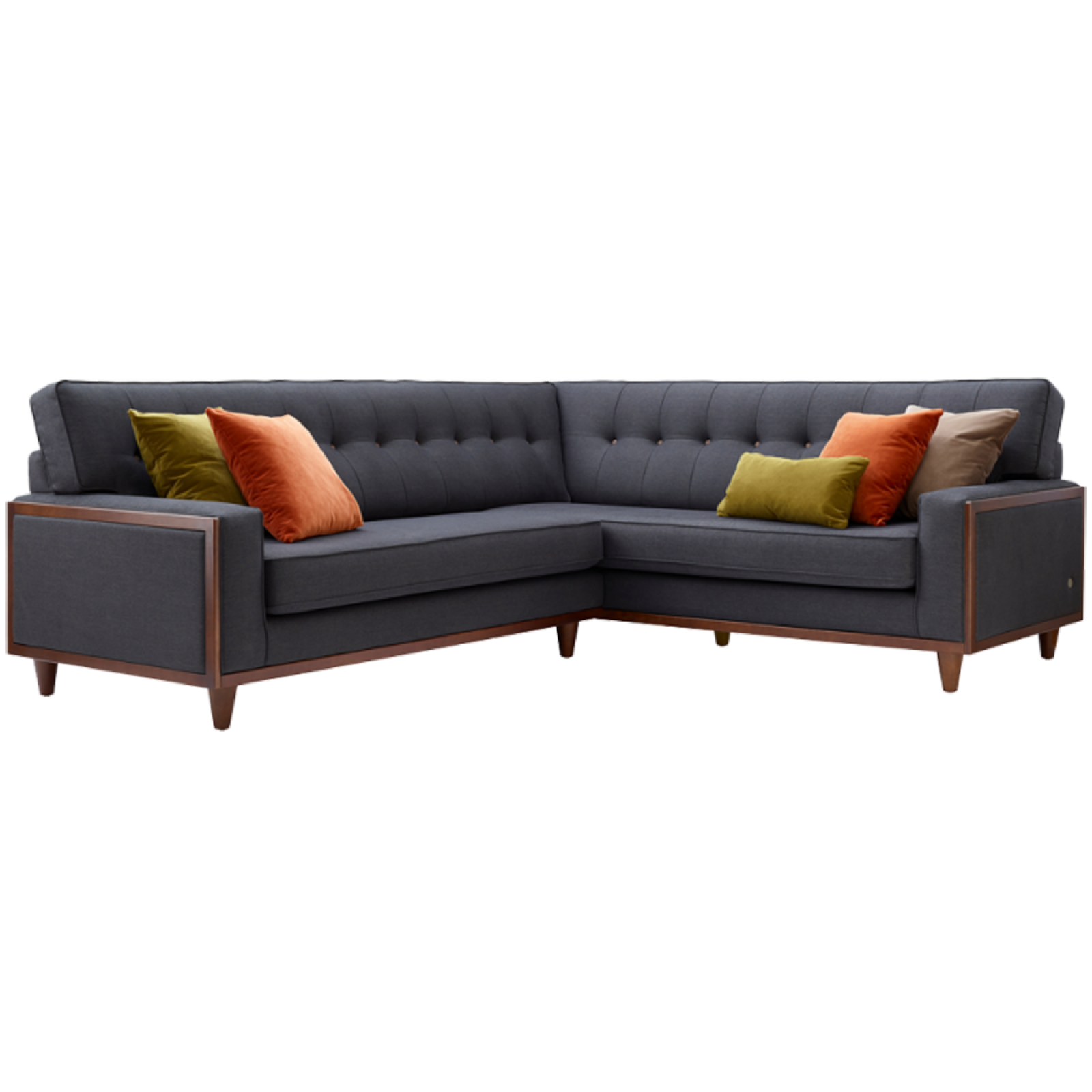 G Plan Vintage The Fifty Nine Right Hand Corner Fabric Sofa