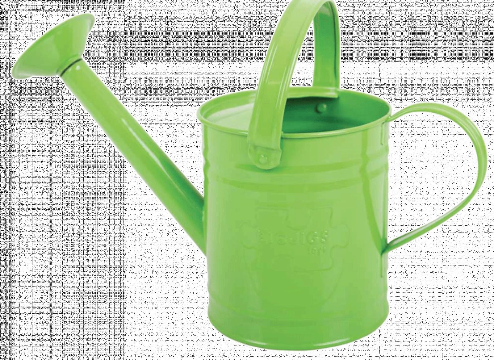 Green Metal Watering Can 3yrs+