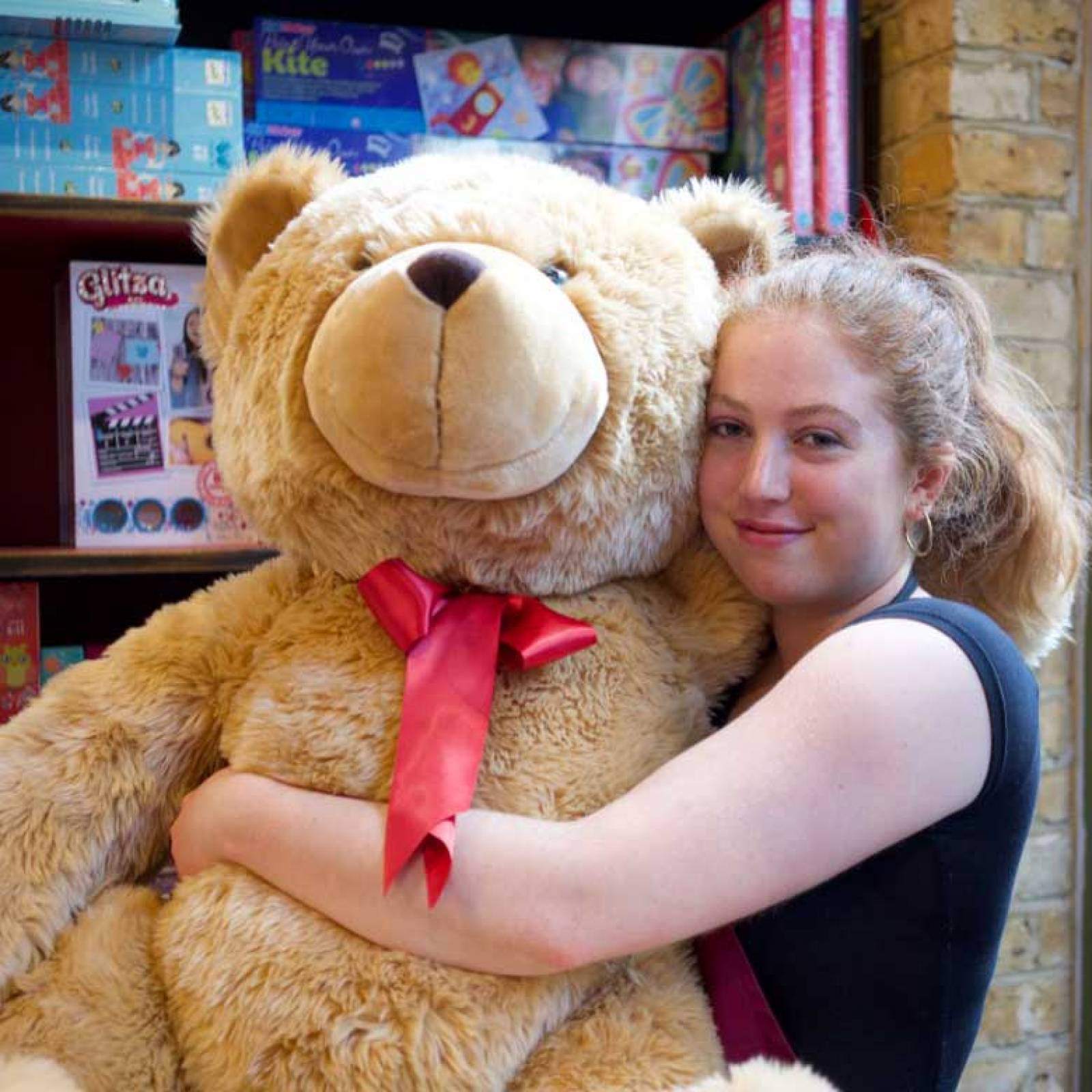 Giant Teddy Bear Soft Toy 120cm.