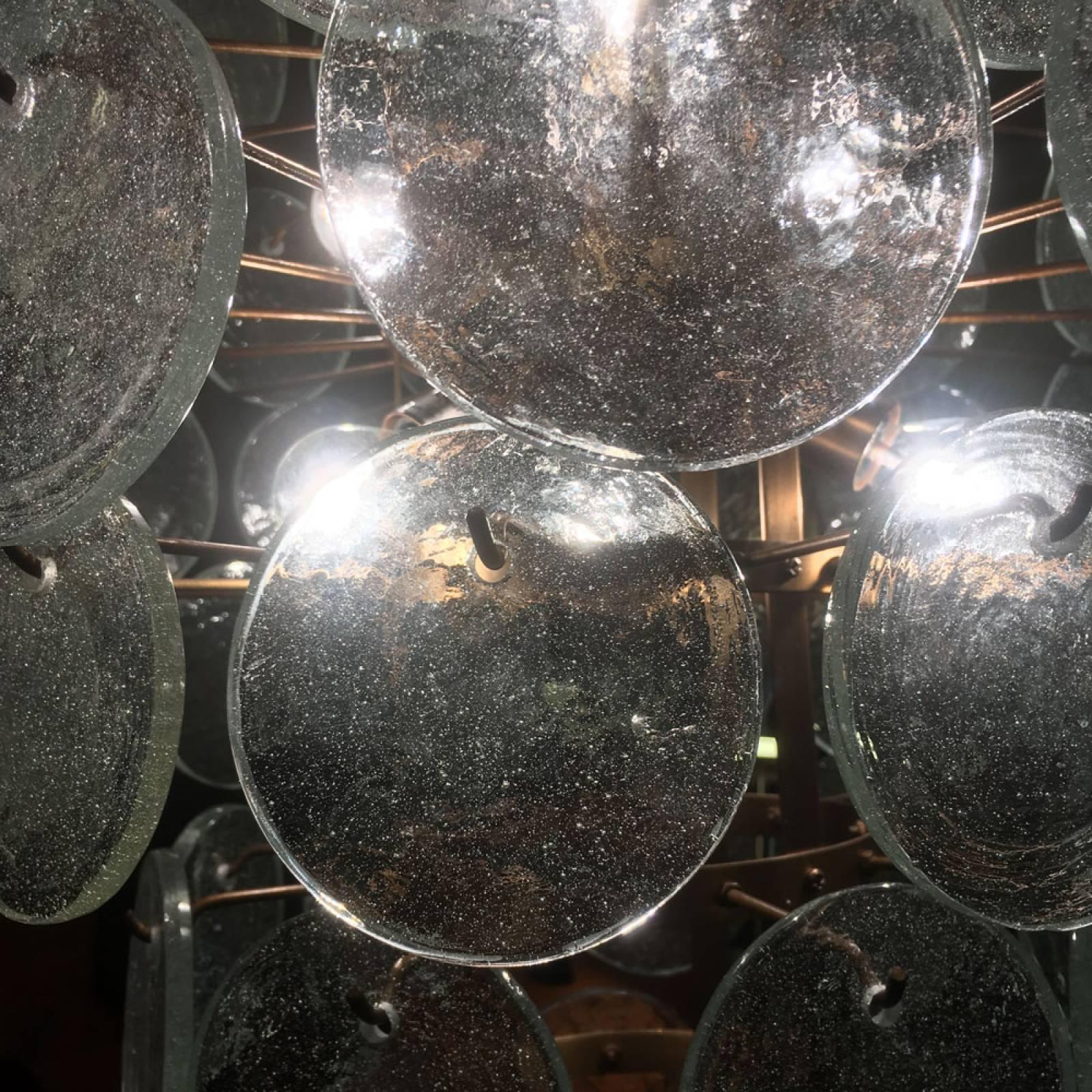 Glass Coin Pendant Lamp Chandelier thumbnails