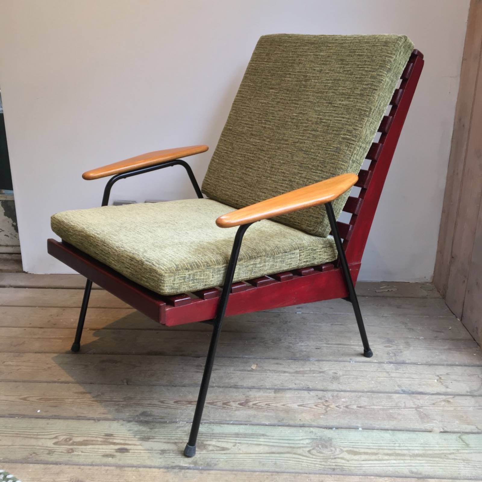 Mid Century 1950s Conservatory Chair thumbnails
