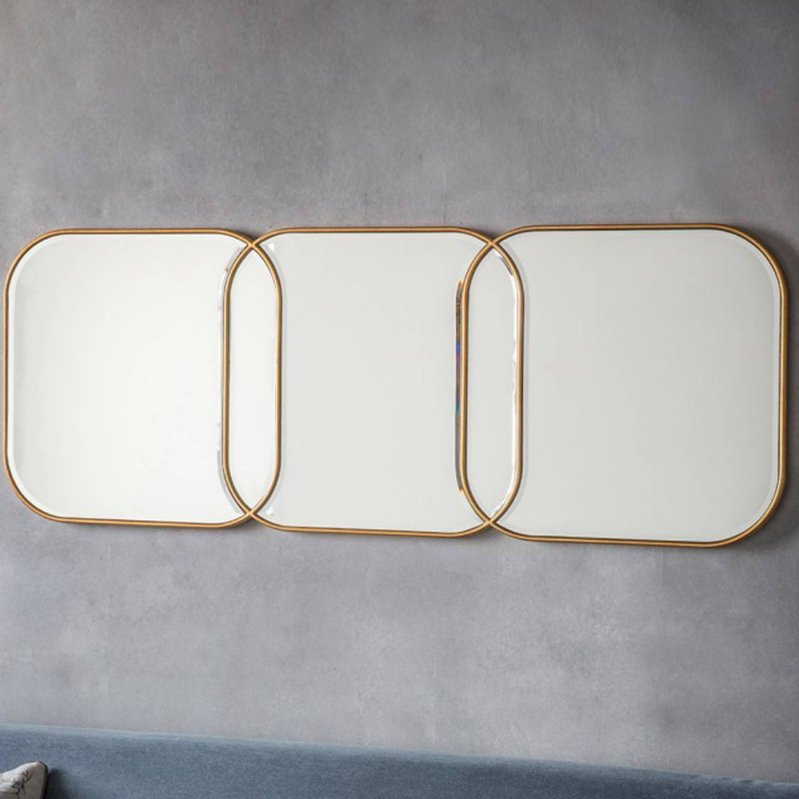 Kennford Triple Mirror