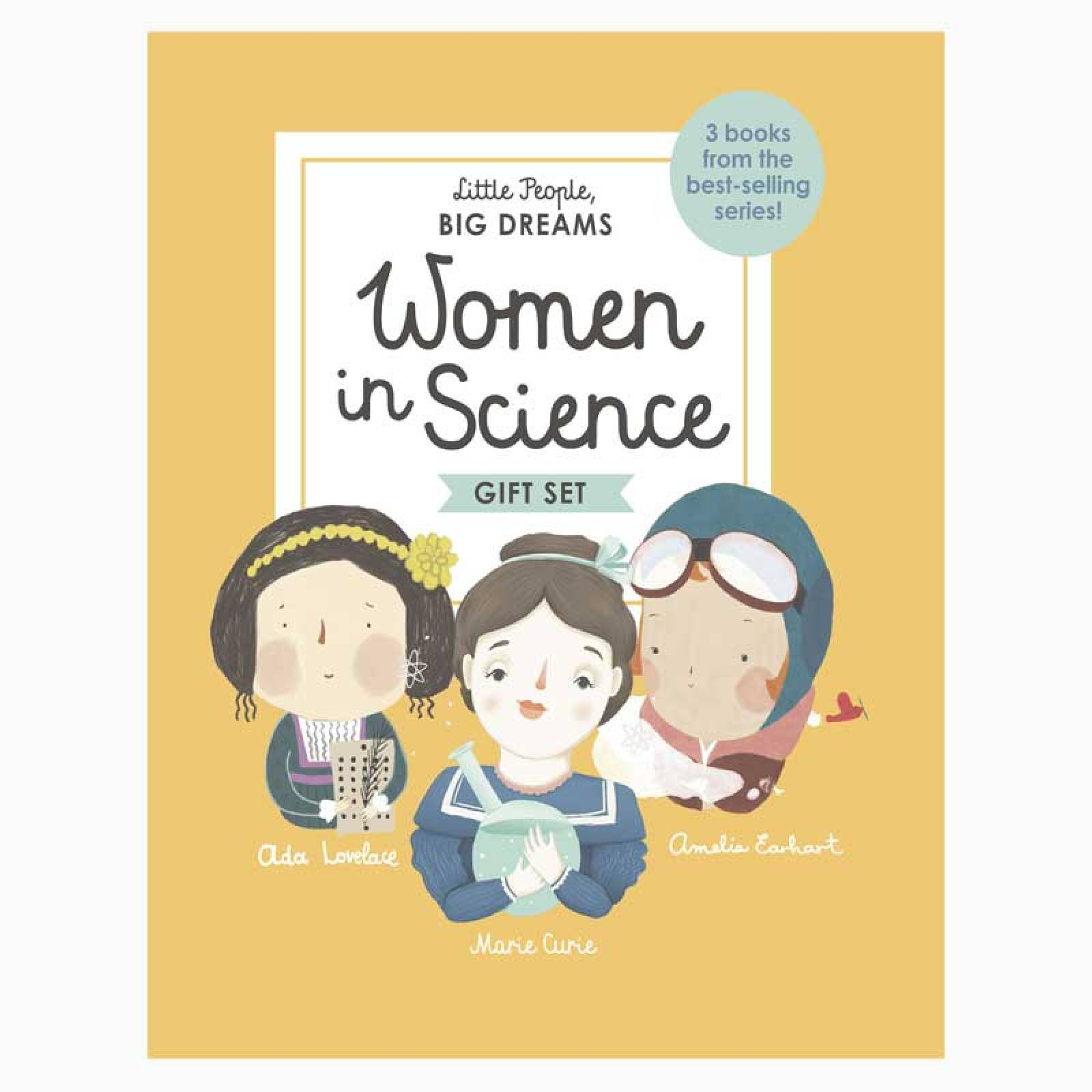 Women In Science - Boxed Set: Little People Big Dreams thumbnails