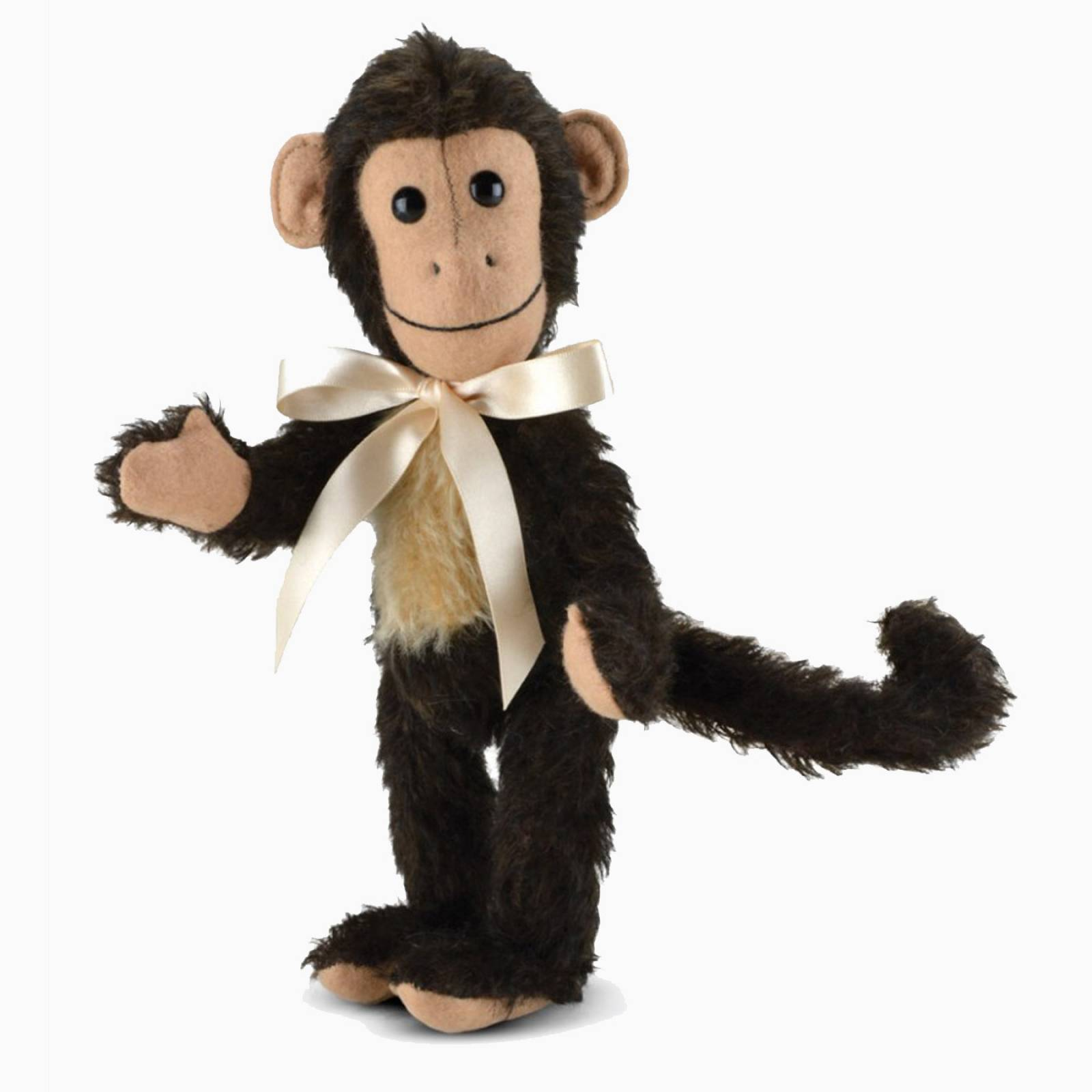 """Mohair Milo Monkey 9"""" Handmade By Merrythought"""