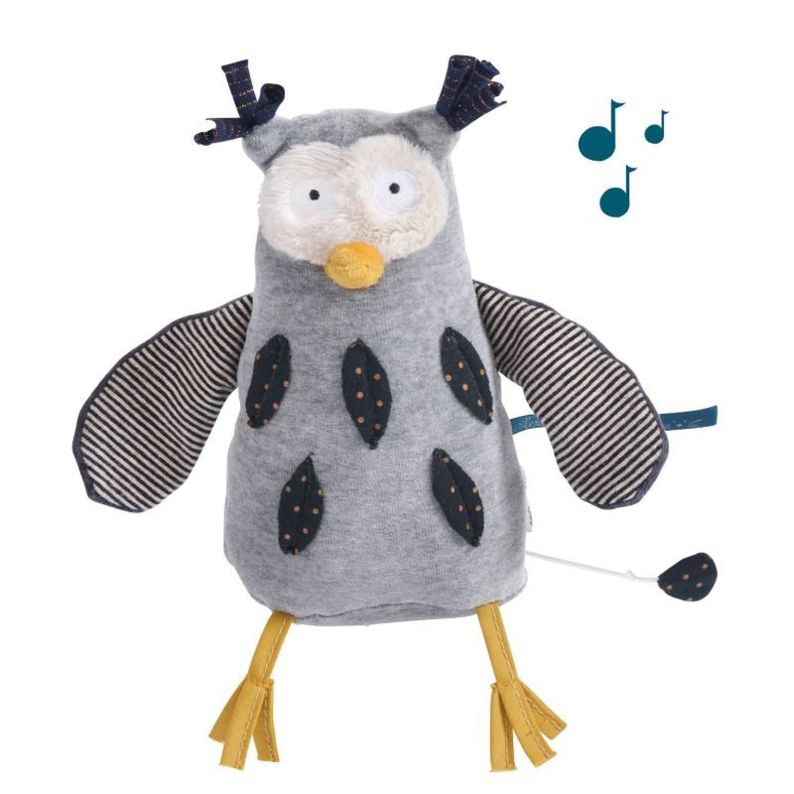 Mister Owl Musical Soft Toy