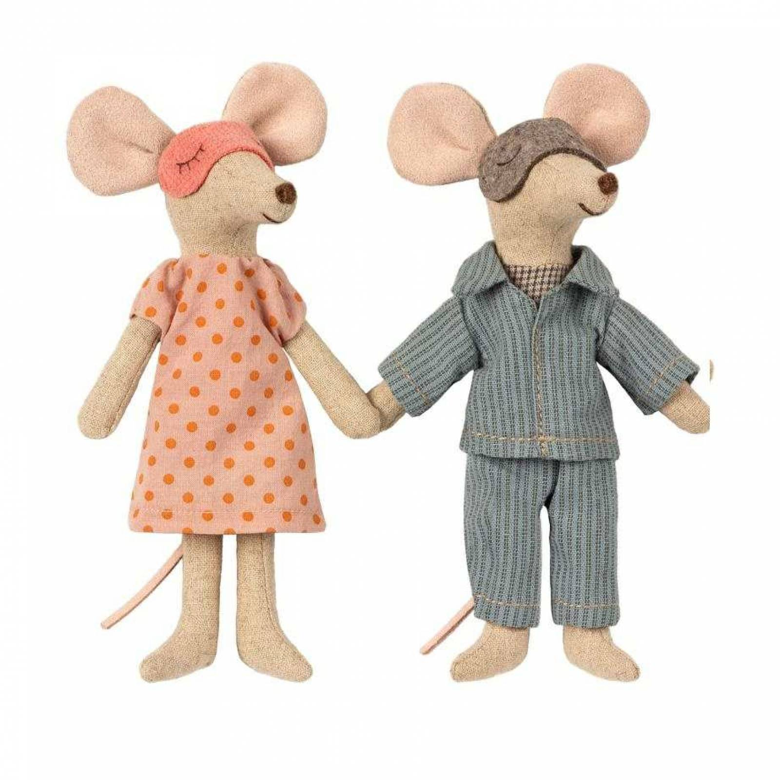 Mum And Dad Mice In Cigar Box By Maileg thumbnails