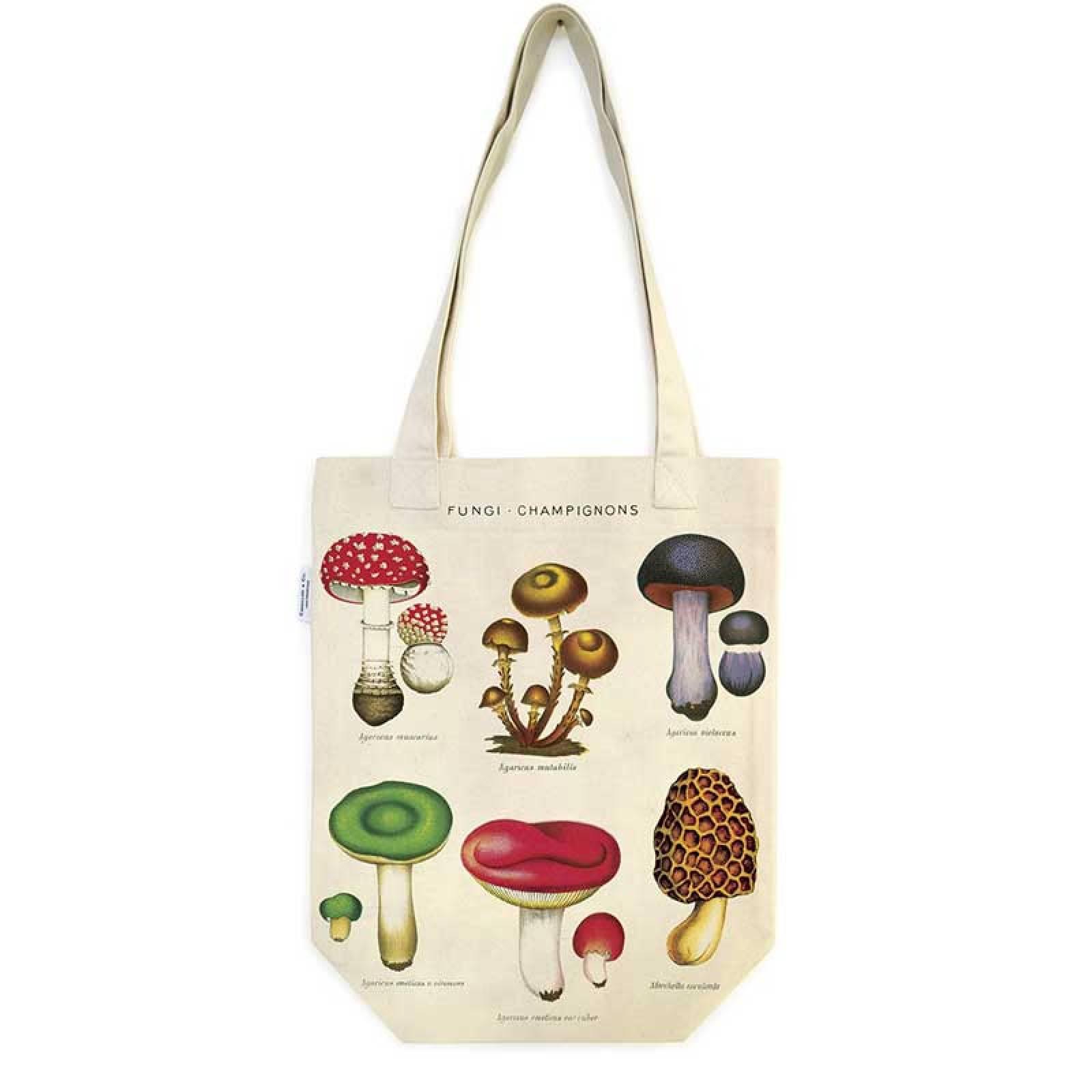 Mushrooms Cotton Tote Bag thumbnails