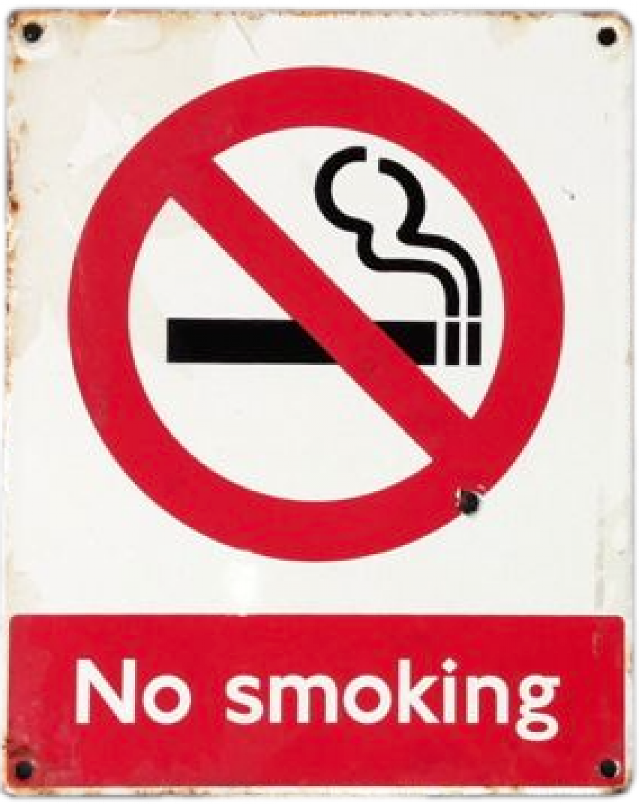 No Smoking Sign - Vintage from London Underground's Tube System thumbnails