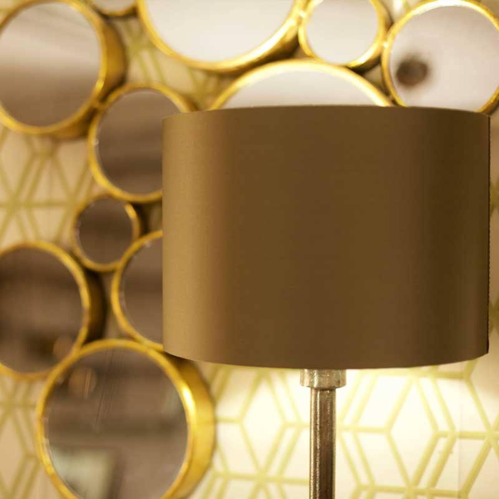 Novi Table Lamp With Croc Print Green Shade thumbnails