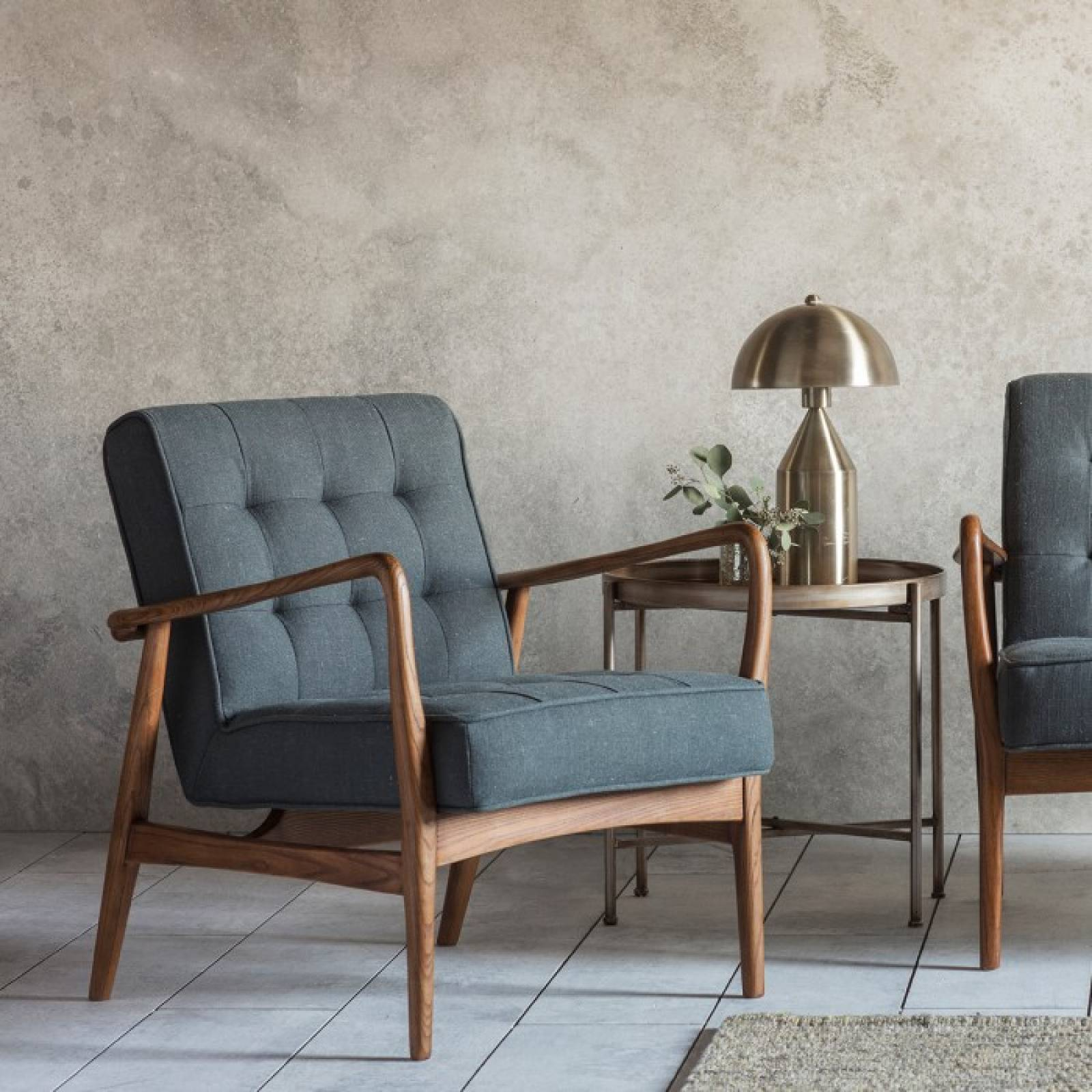 The Olsen - Armchair in Fabric