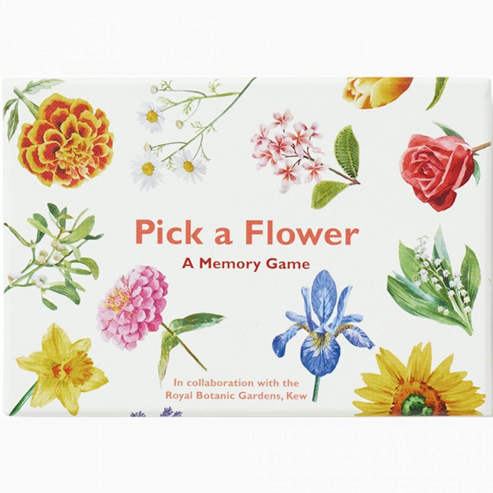 Pick A Flower: Memory Match Game 6+
