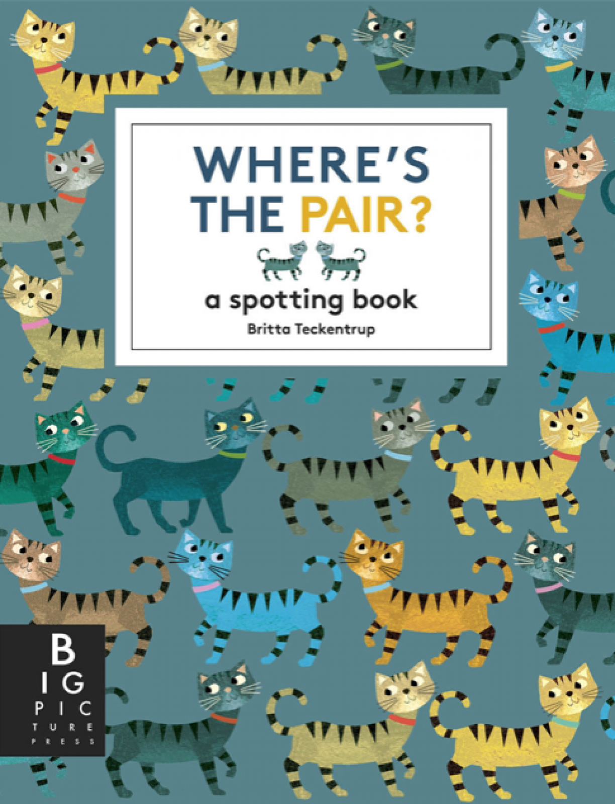 Where's The Pair? A Spotting Book By Britta Teckentrup Hardback thumbnails