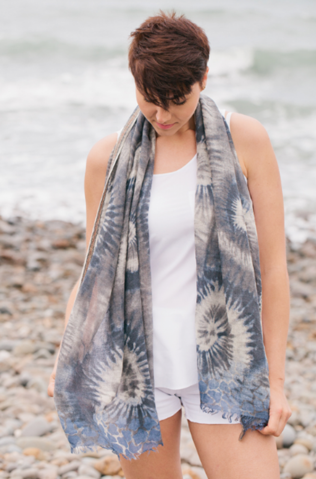 Baza Wool Scarf By Jo Edwards thumbnails