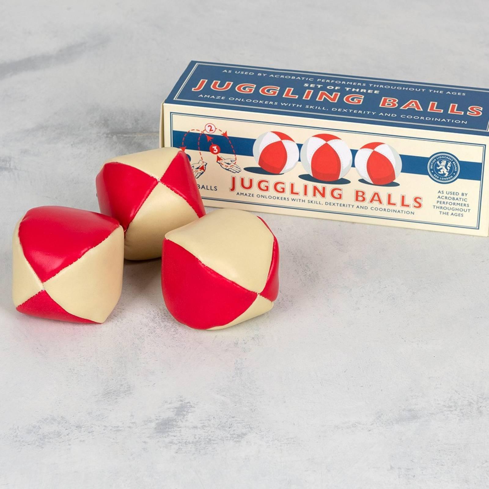 Set of 3 Juggling Balls In Retro Box thumbnails