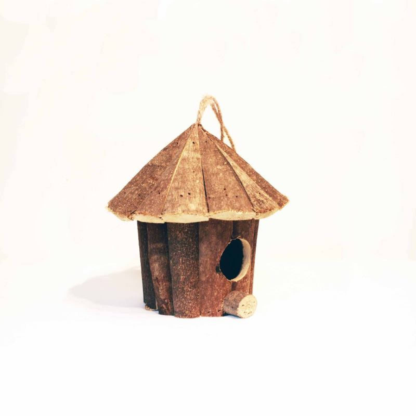 Small Wooden Hanging Birdhouse thumbnails