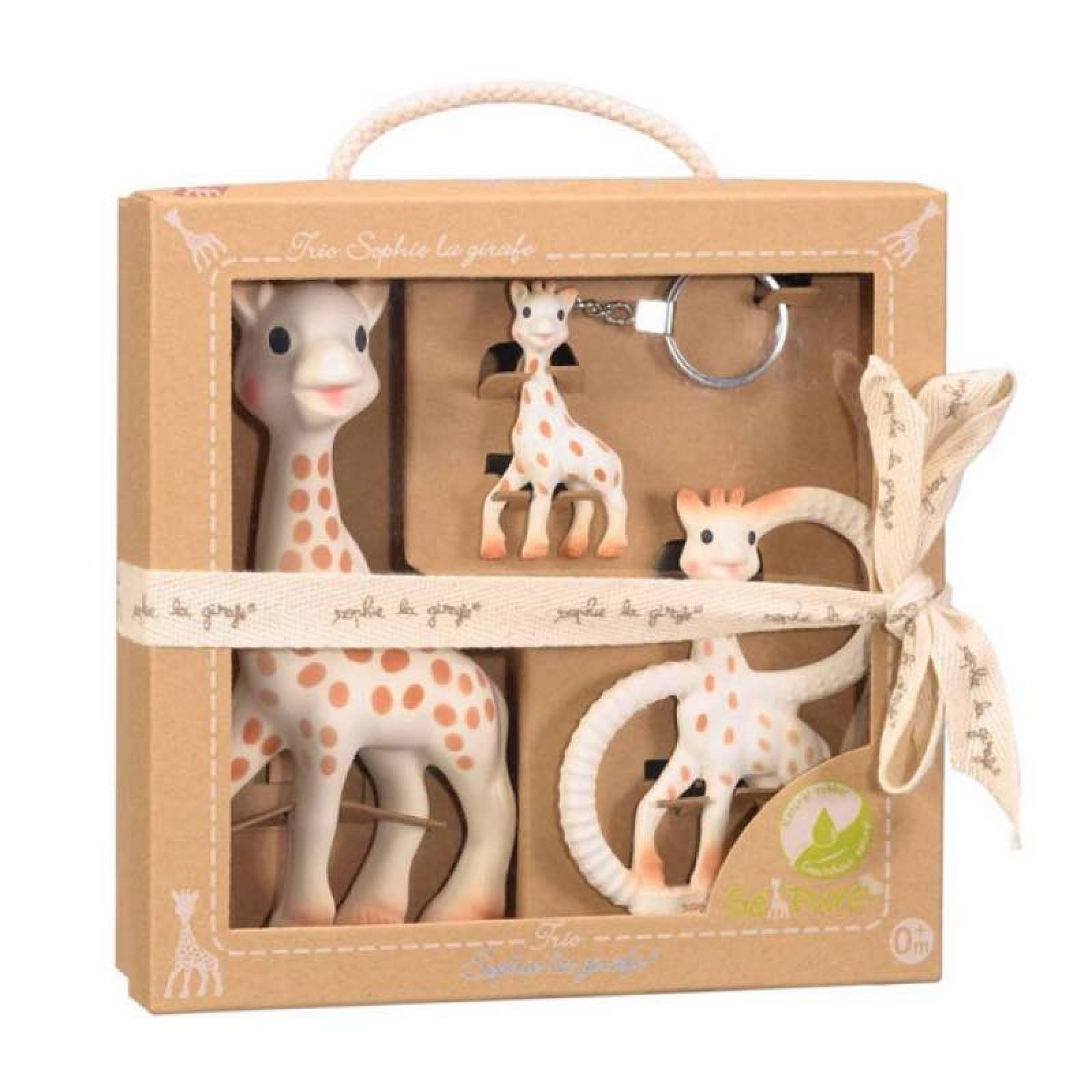 Sophie La Girafe/ The Giraffe Trio Boxed Gift Set