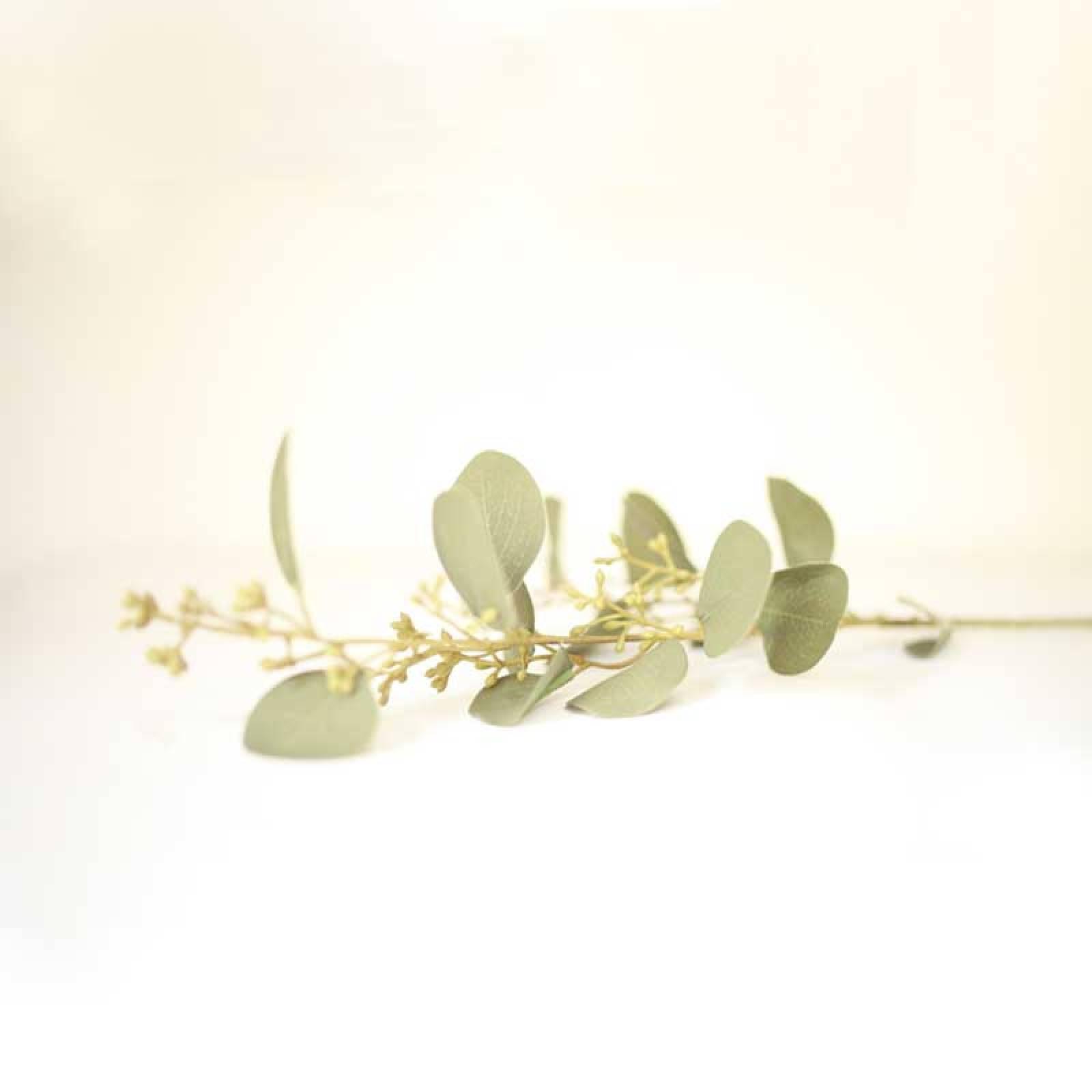 Spray Of Eucalyptus Artificial Plant