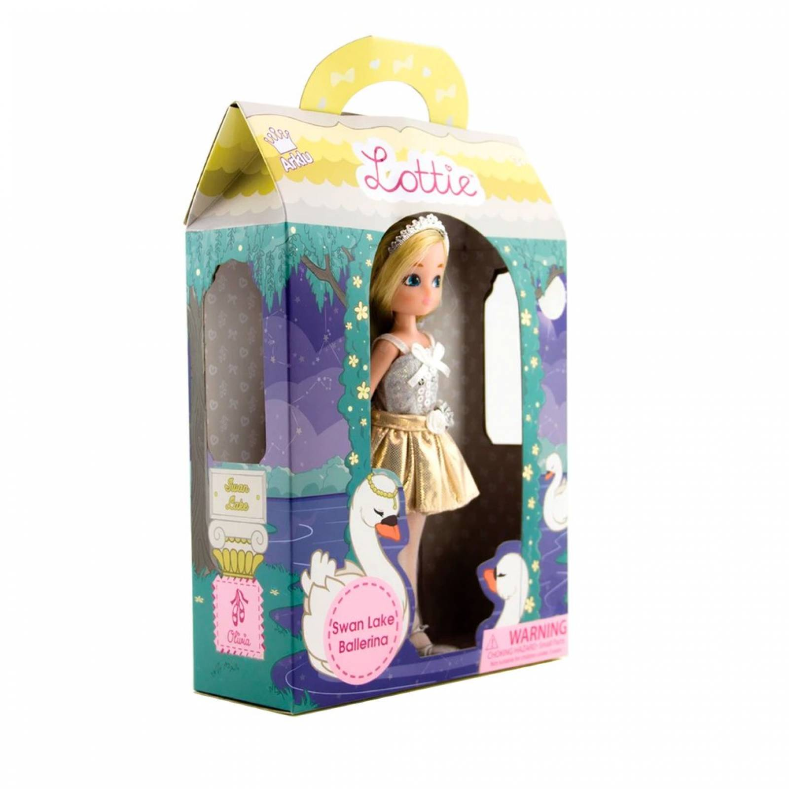 Swan Lake Ballerina Lottie Doll 3+ thumbnails