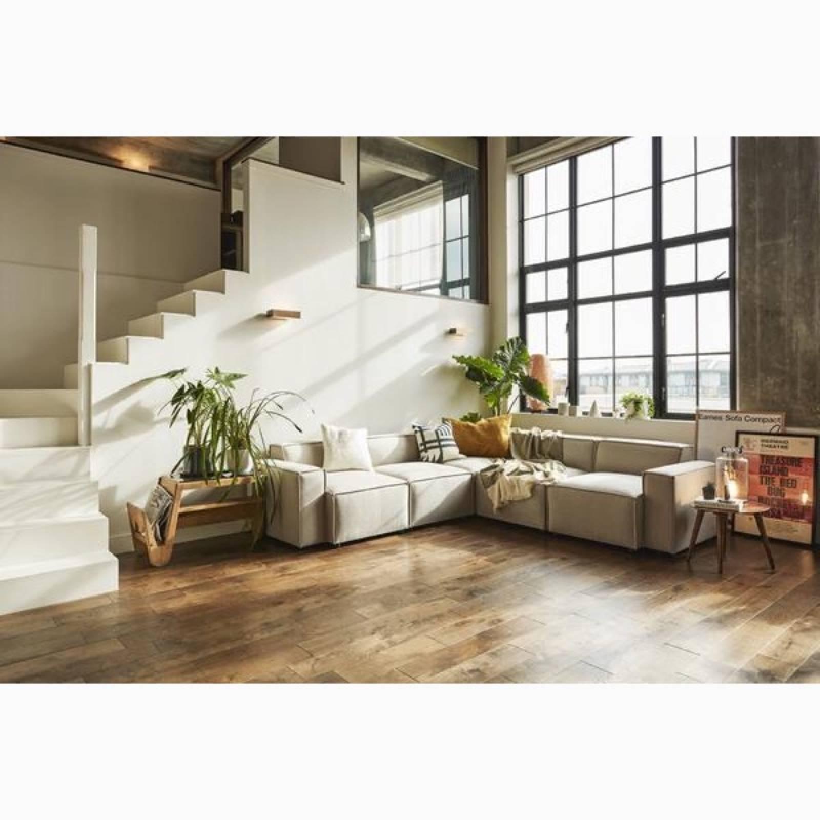 Swyft Model 03 - Corner Sofa - Linen Pumice thumbnails