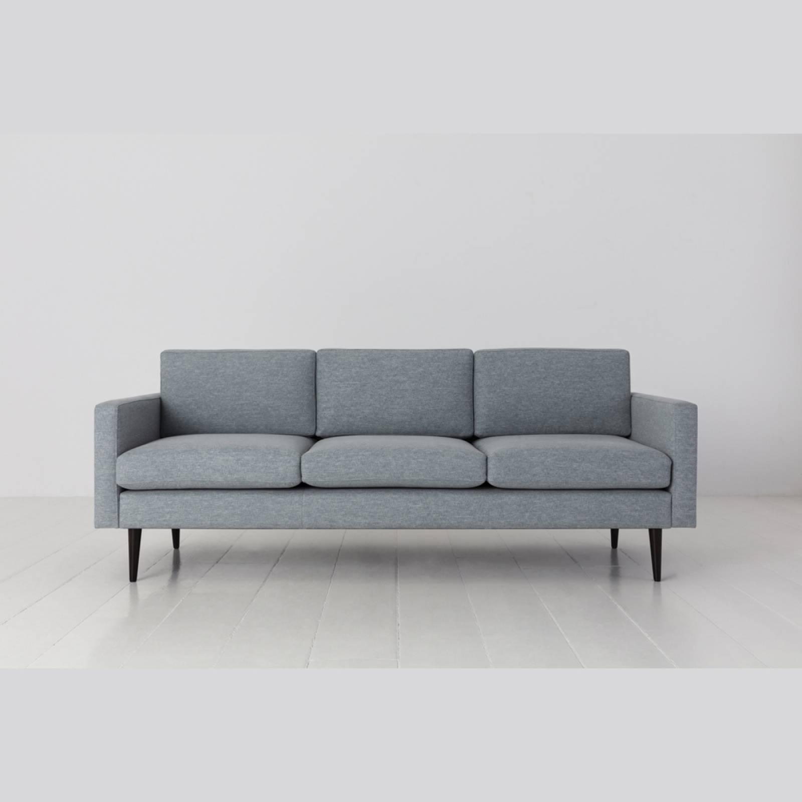 Swyft - Model 01 - 3 Seater Sofa - Linen Seaglass