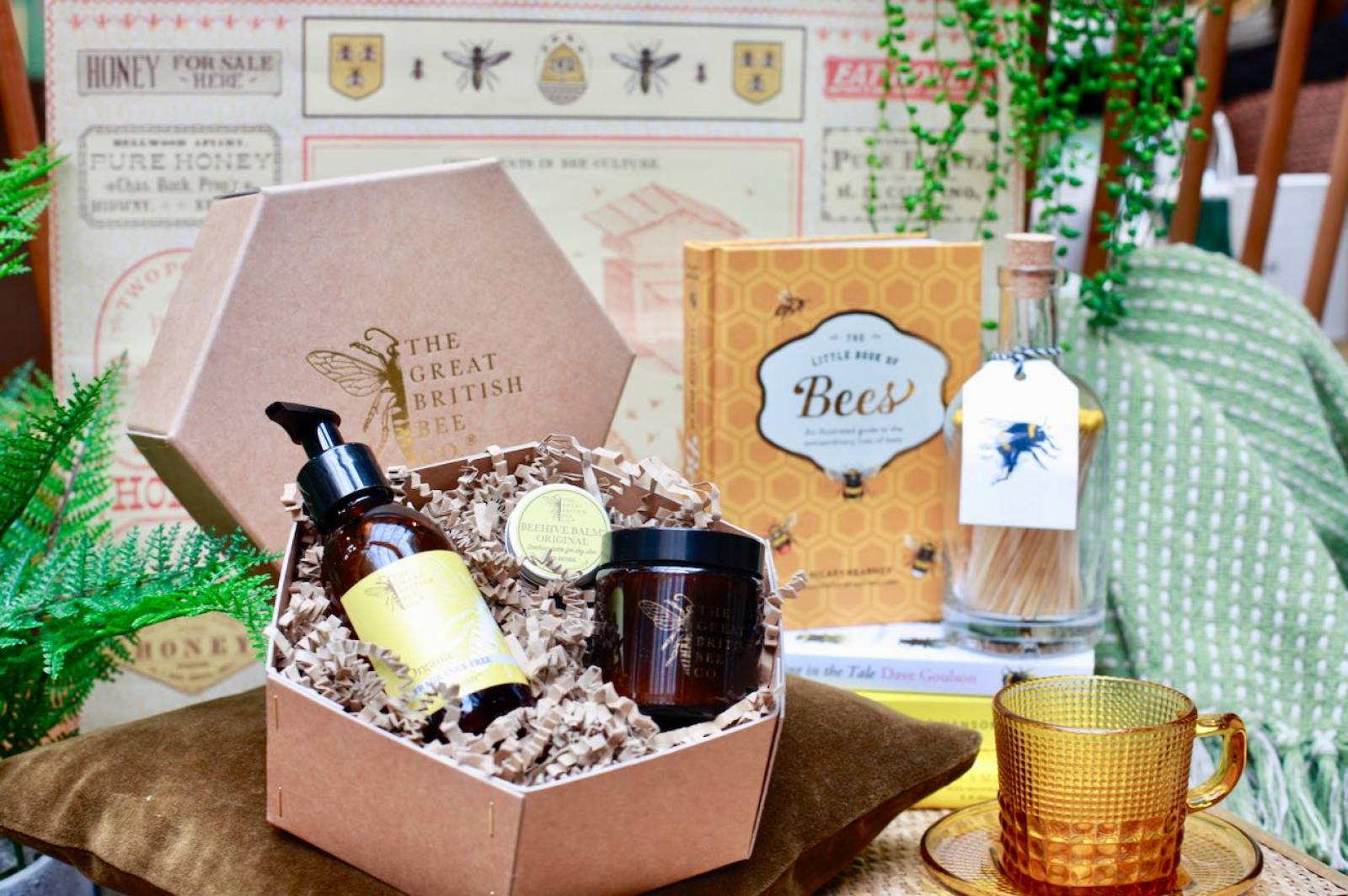 The Great British Bee Fragrance Free Gift Set