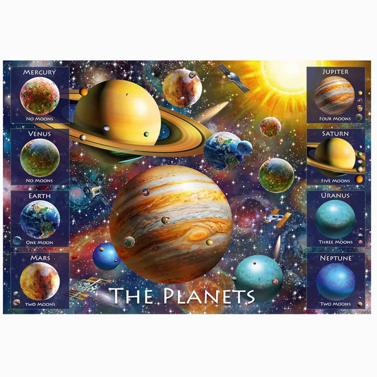 The Planets 100 Piece Jigsaw Puzzle 6+ thumbnails