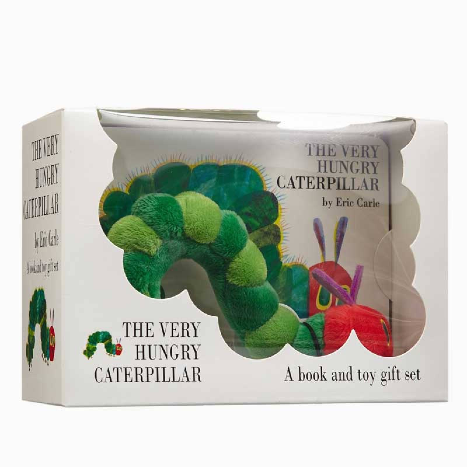 The Very Hungry Caterpillar Hardback Book And Plush Toy Set