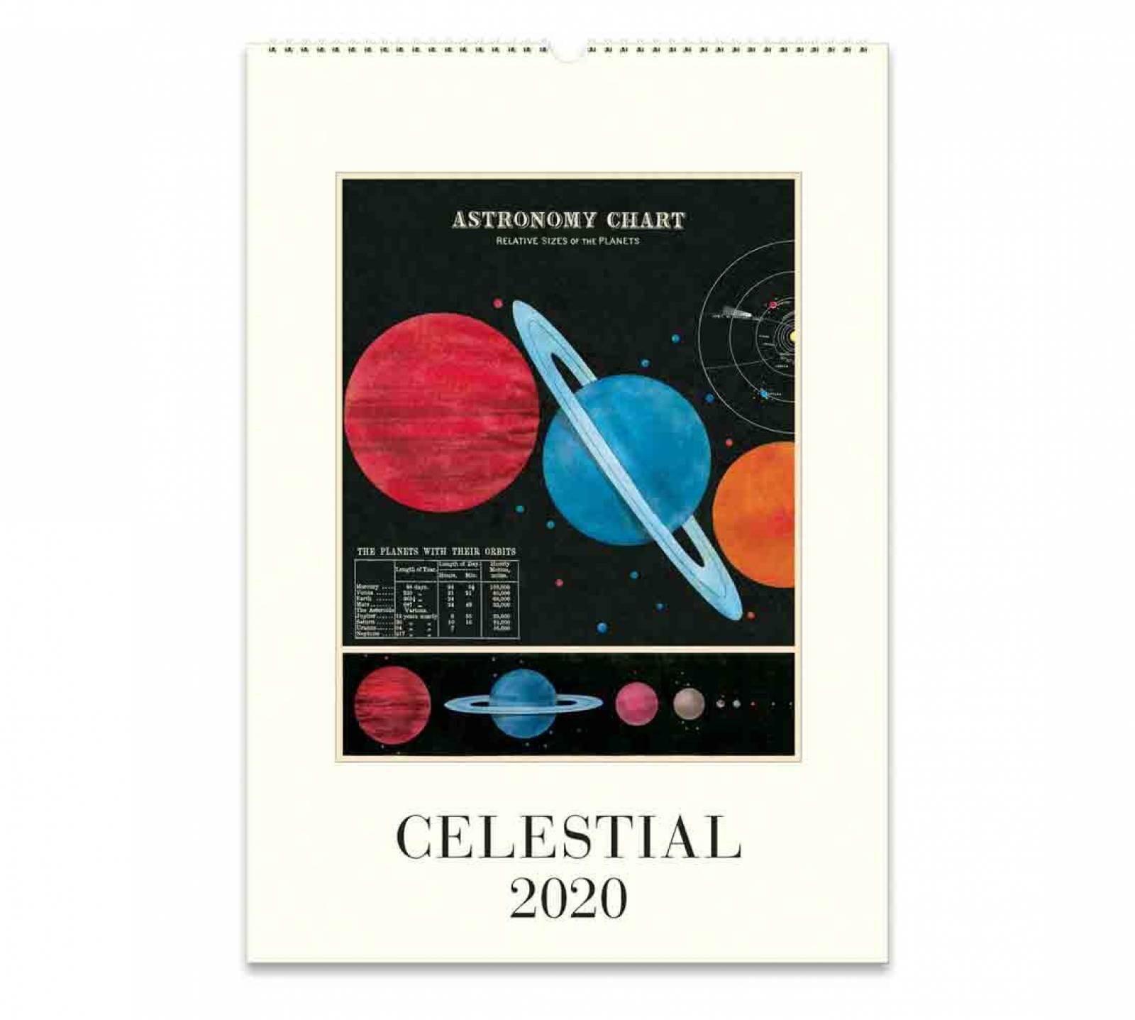 Celestial Wall Calendar By Cavallini