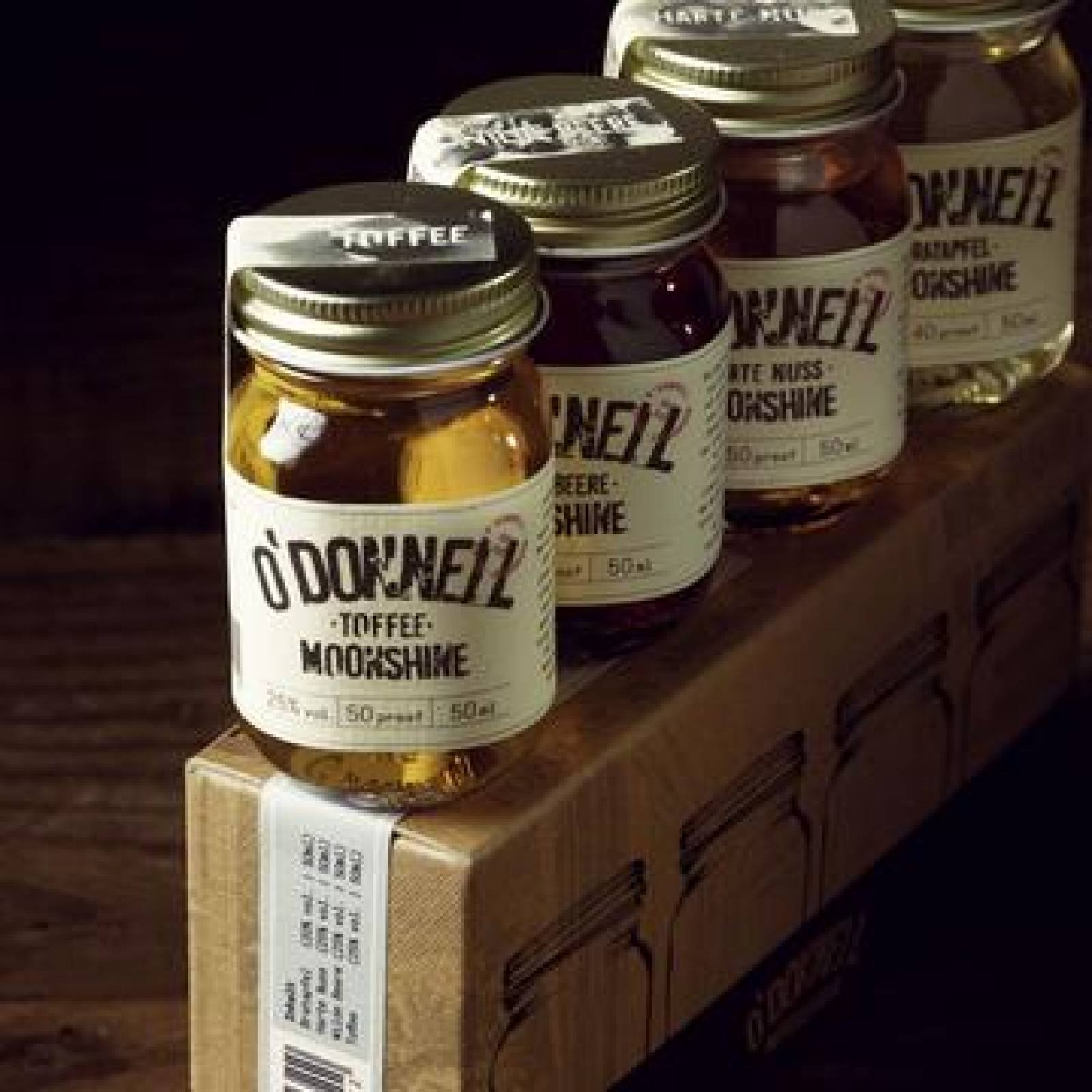 O'Donnell Moonshine - Minis Gift Pack 4 x 50ml thumbnails