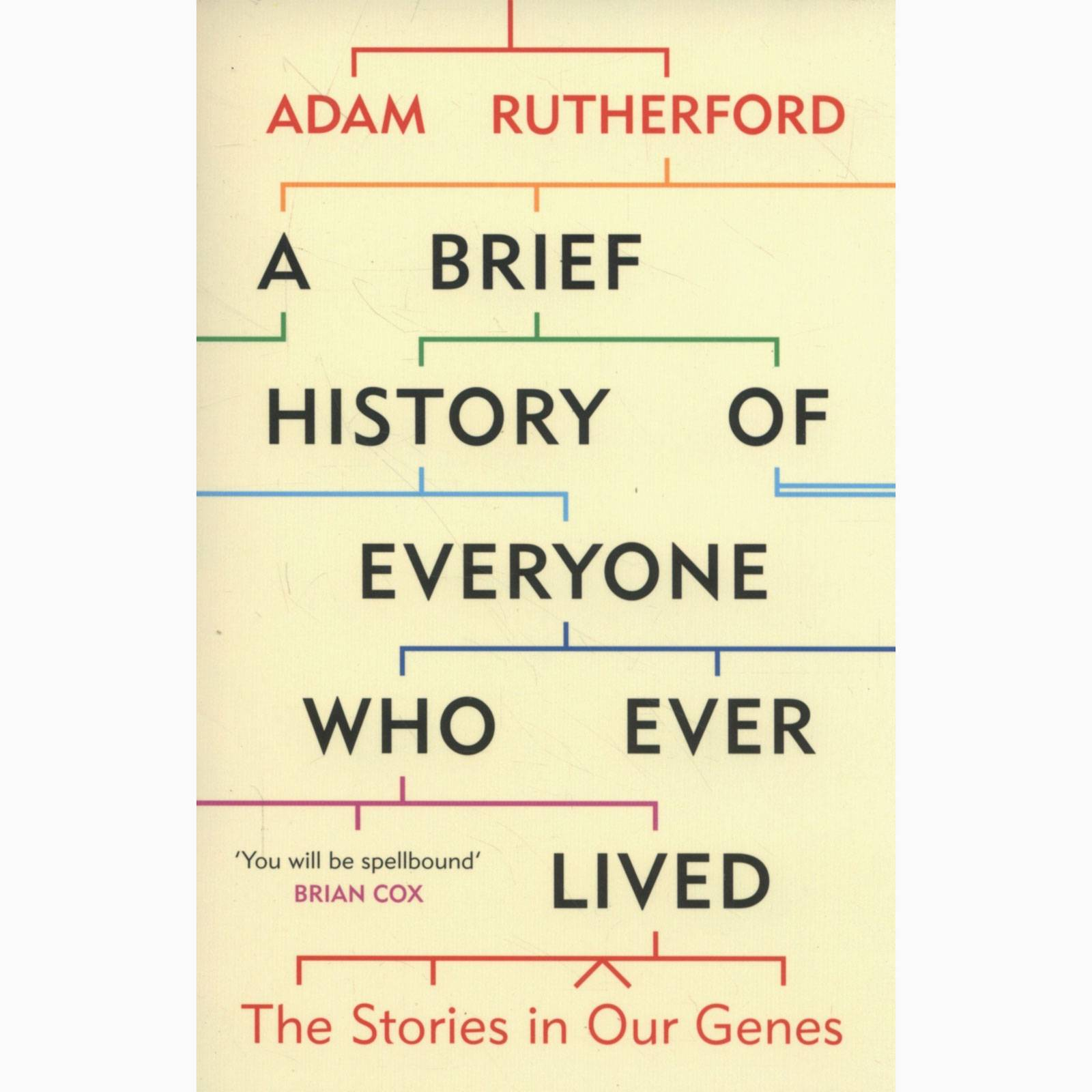 A Brief History Of Everyone Who Ever Lived - Paperback Book