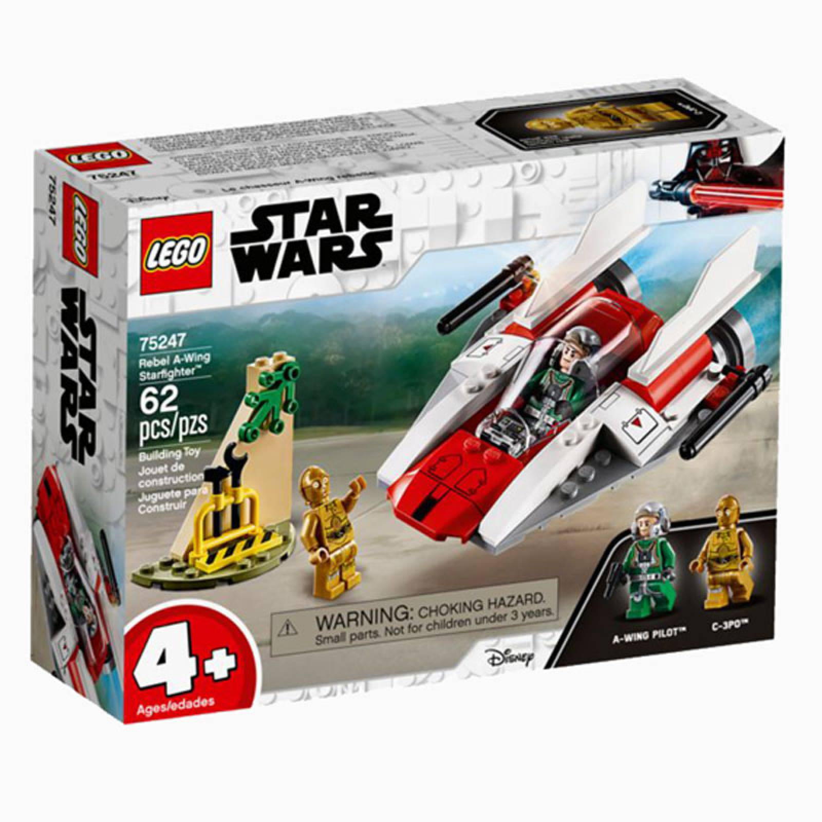 LEGO Star Wars Rebel A-Wing Starfighter 75247 - Retiring 2019 thumbnails
