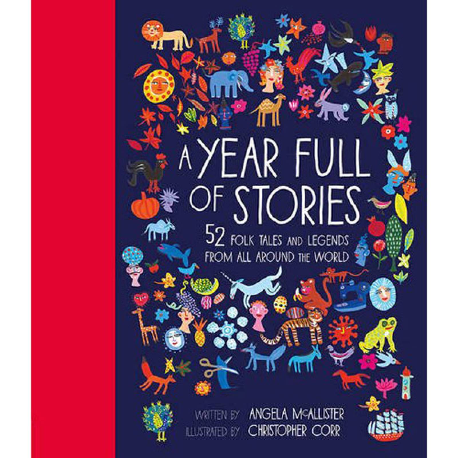 A Year Full Of Stories - 52 Folk Tales And Legends Hardback Book