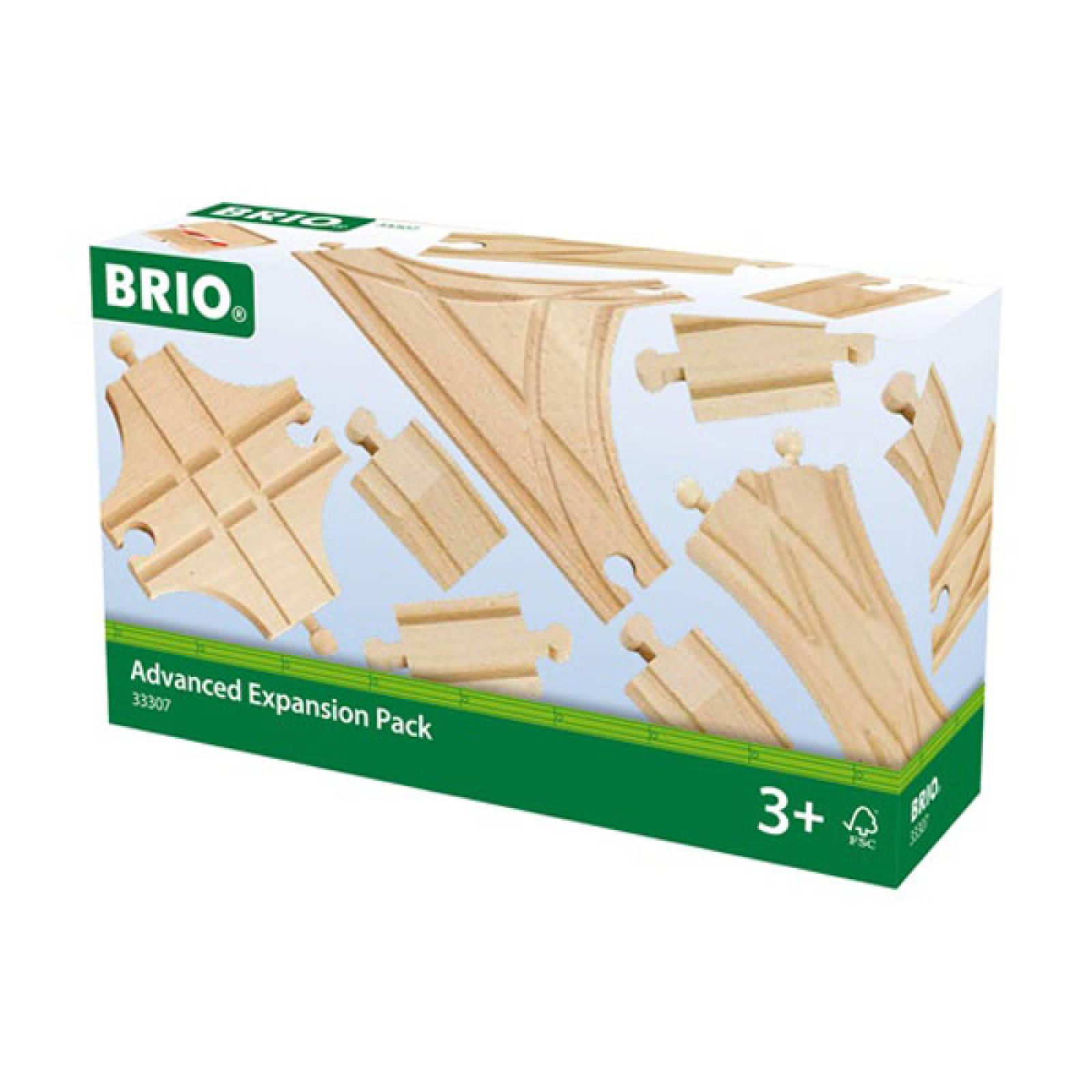 Advanced Expansion Track  BRIO® Wooden Railway Age 3+ thumbnails