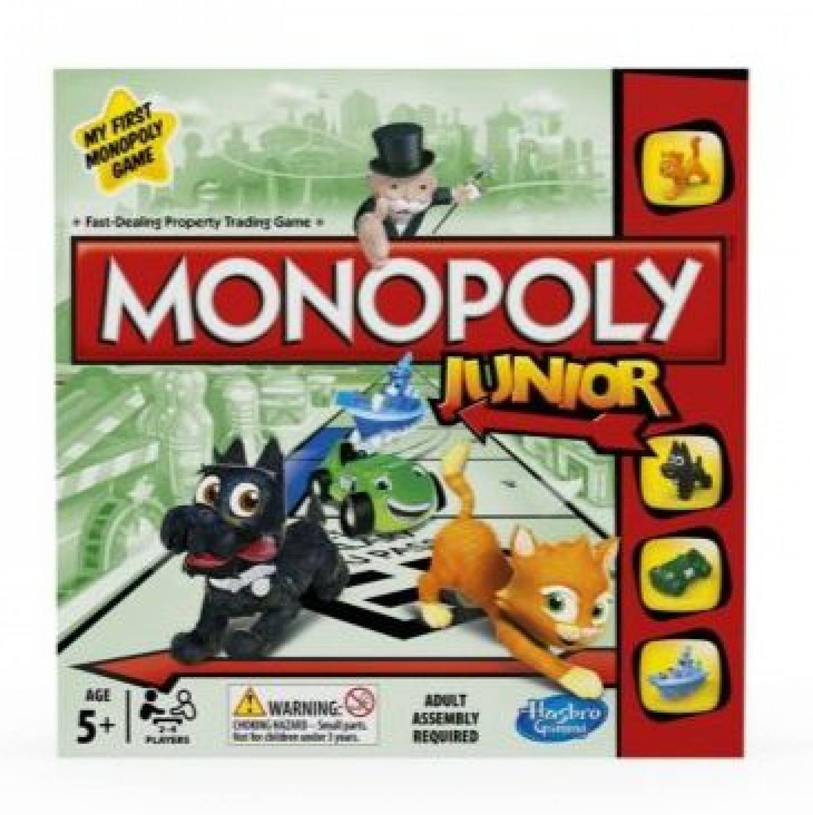 Monopoly Junior Game Age 5 +
