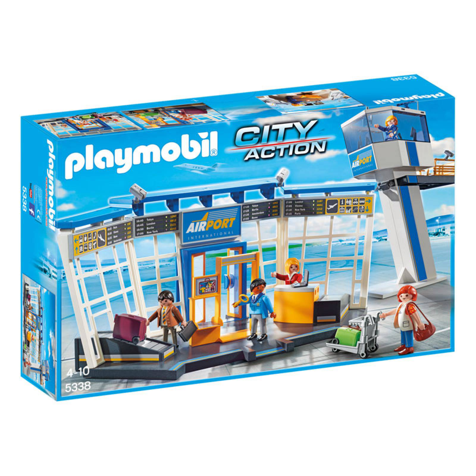 Airport With Control Tower Playmobil City Action 5338 4-10yrs thumbnails