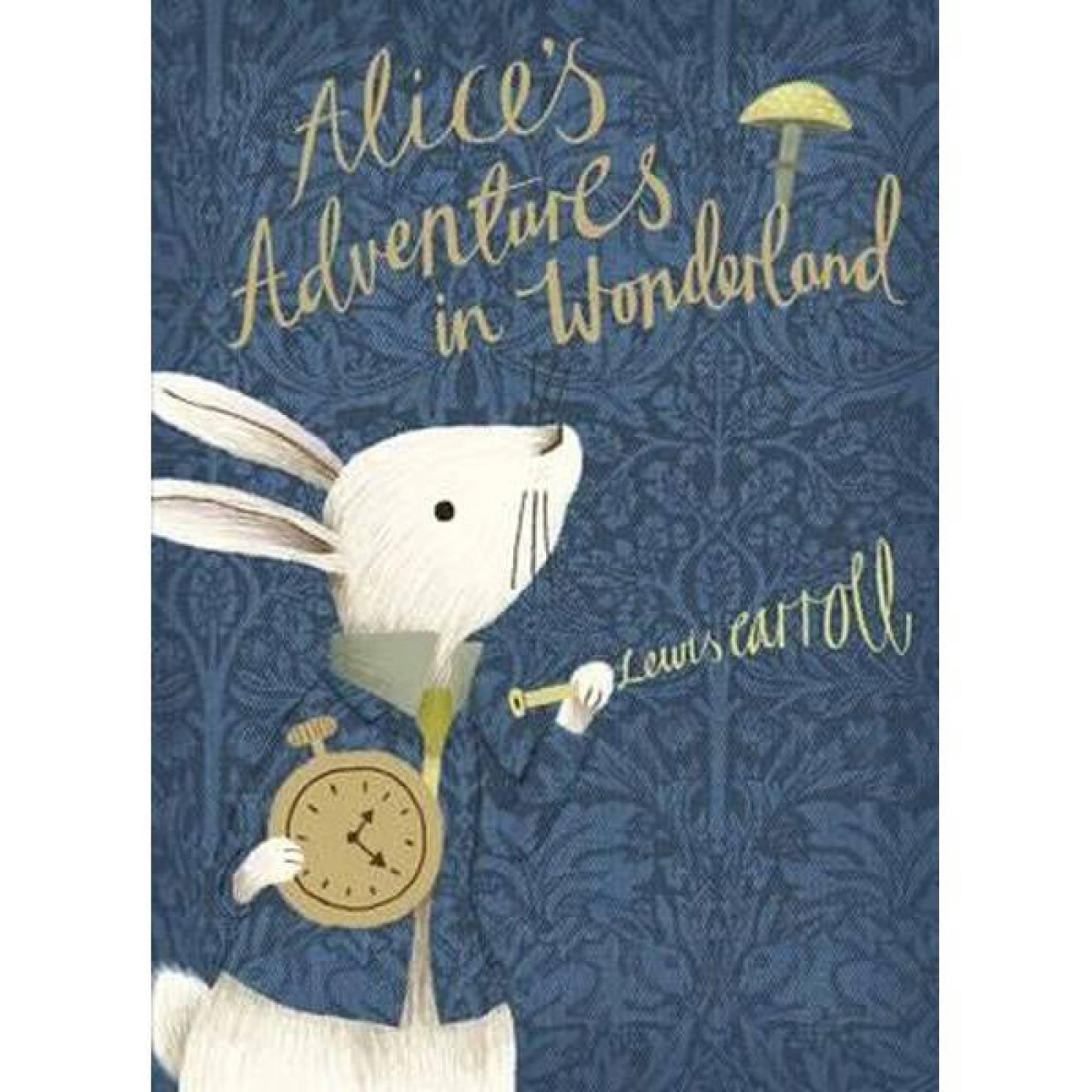 Alice's Adventures In Wonderland V&A Edition Hardback Book