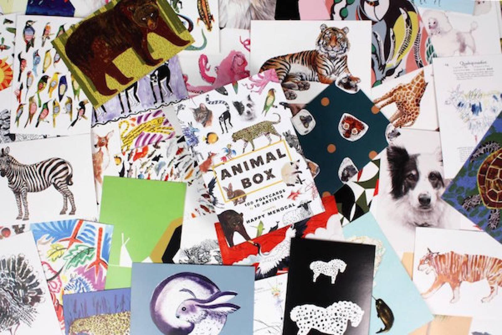 Animal Box - 100 Postcards Boxed Set thumbnails