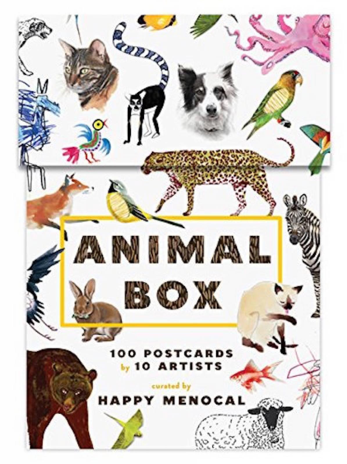 Animal Box - 100 Postcards Boxed Set