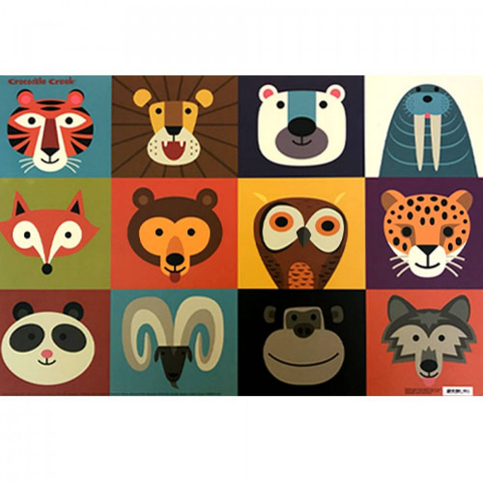 Animalia Placemat By Crocodile Creek thumbnails