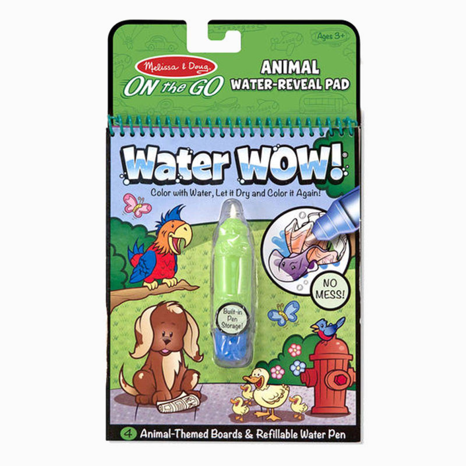 Water Wow! Animals - On the Go Travel Activity 3+