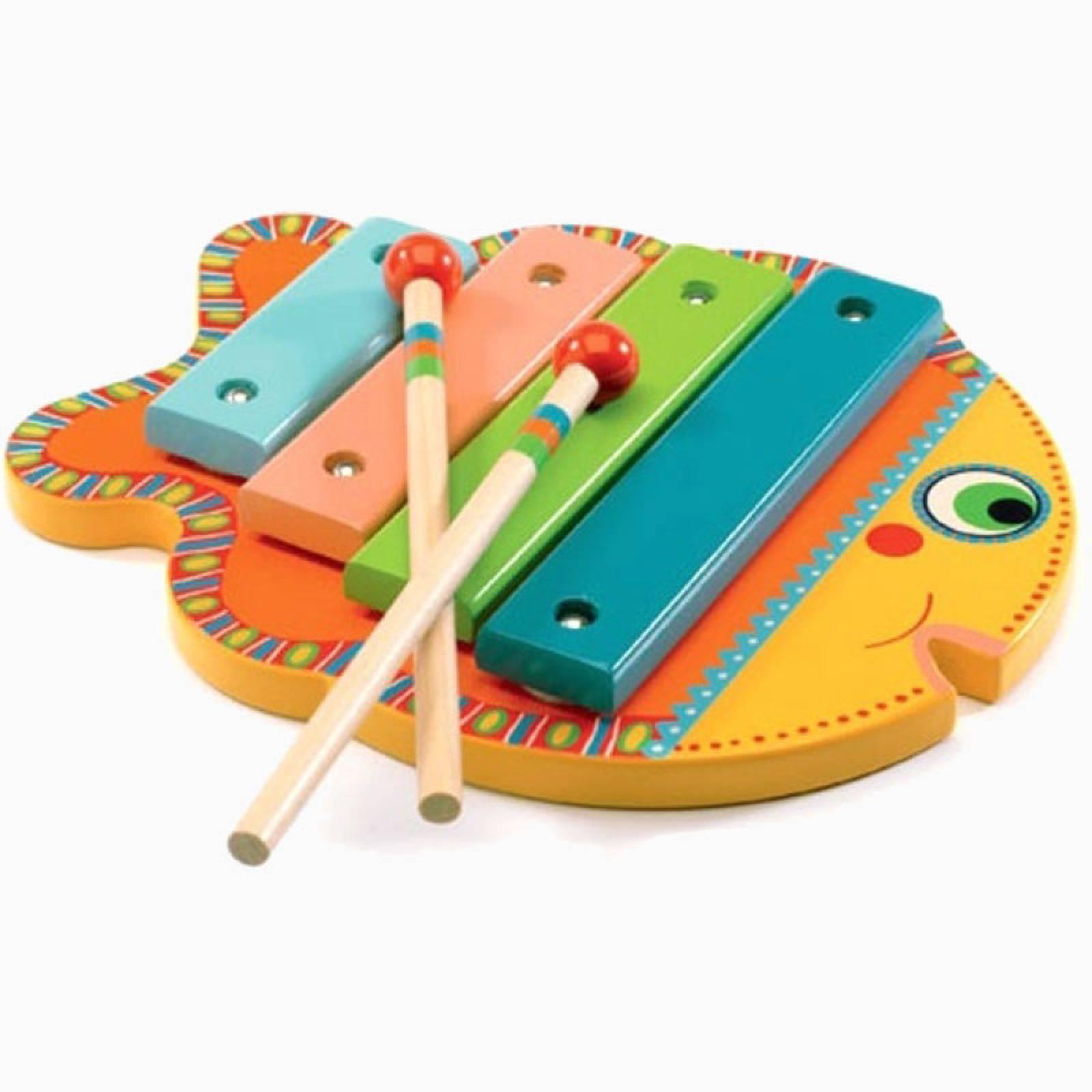 Animambo Fish Xylophone By Djeco 18m+