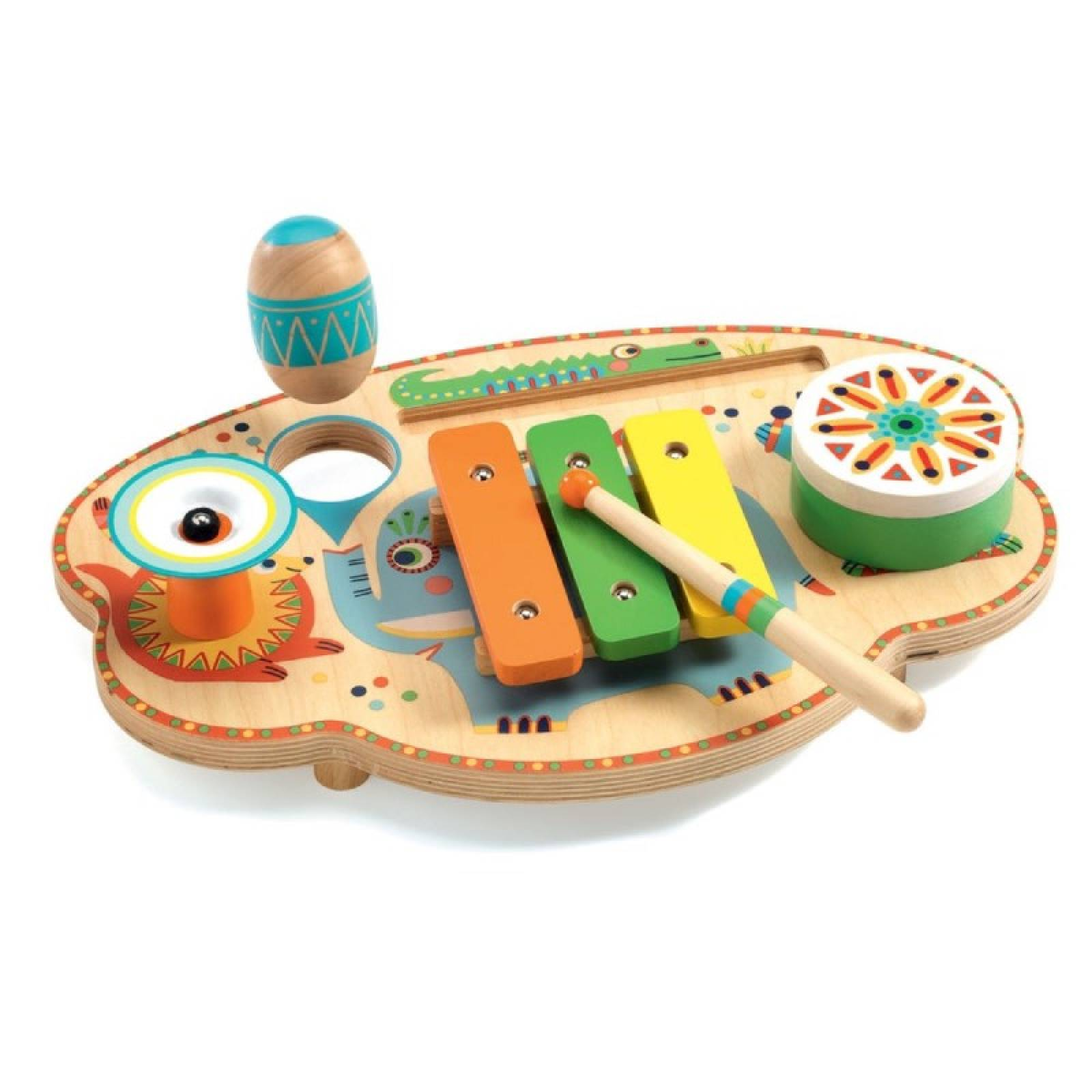 Animambo Musical Carnival Instrument Set By Djeco 2+