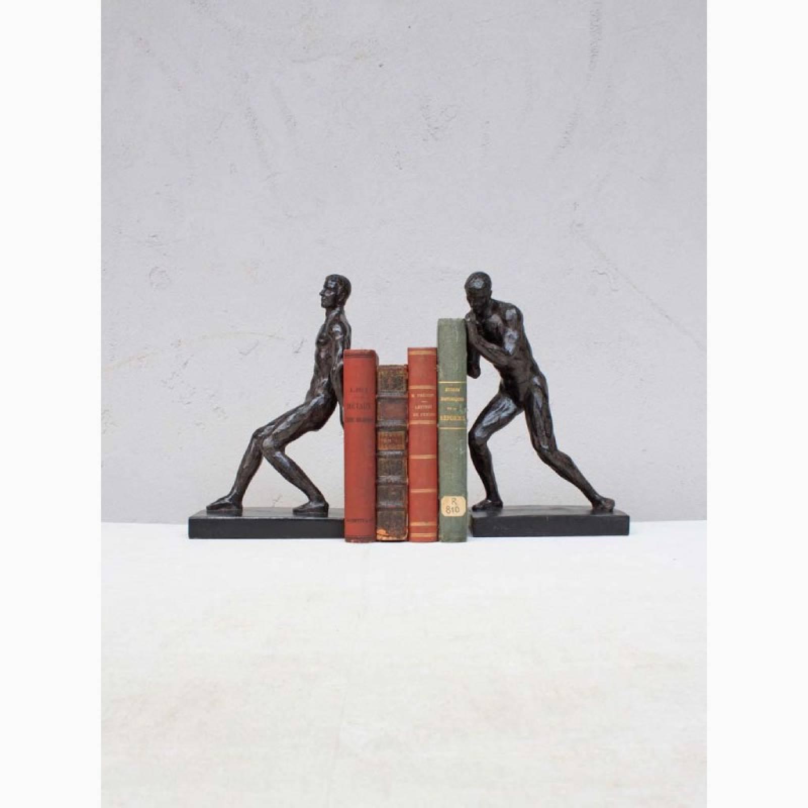 Athletes Sculptural Bookends thumbnails