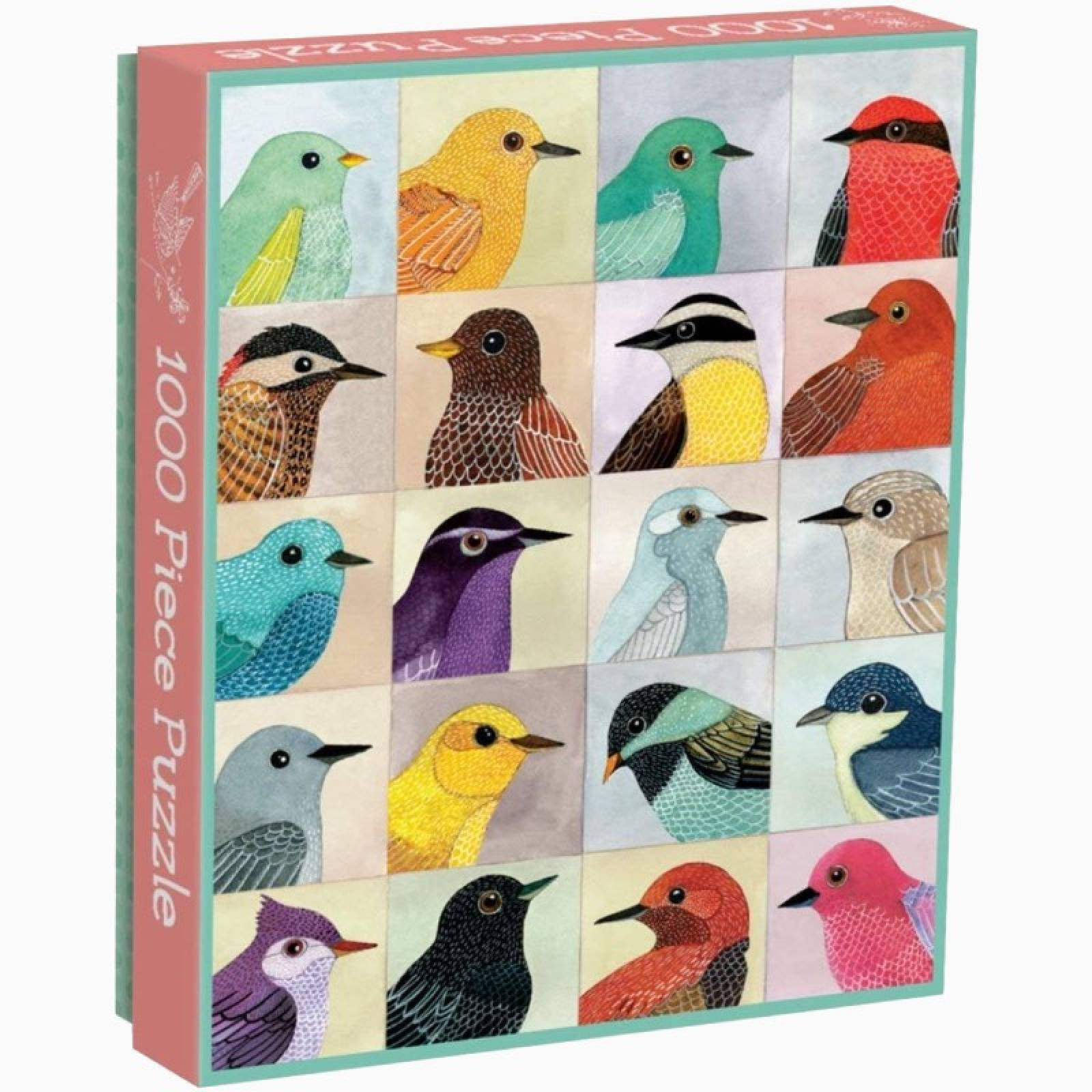 Avian Friends - 1000 Piece Jigsaw Puzzle