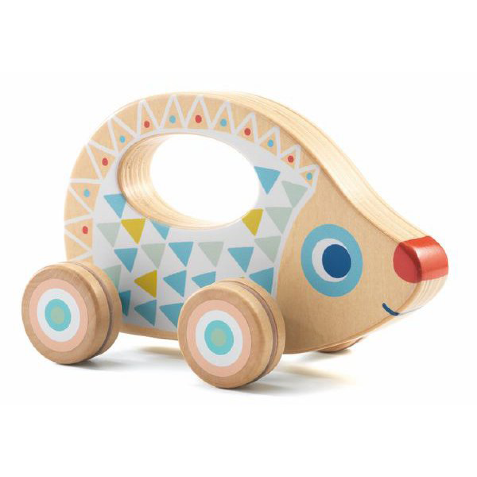 BabyRouli Wooden Hedgehog By Djeco 1+